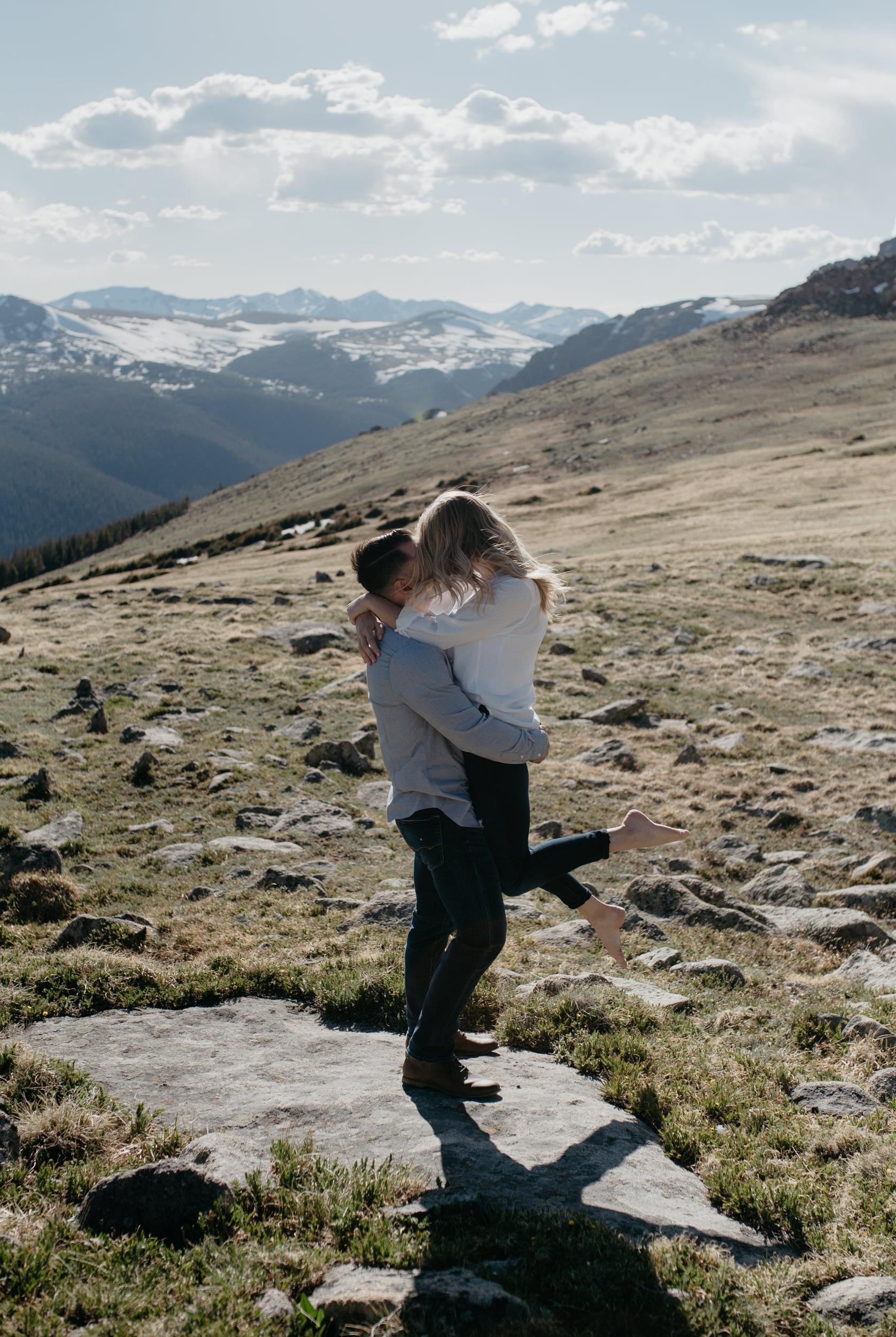 Adventure wedding in Colorado. Colorado elopement photographer
