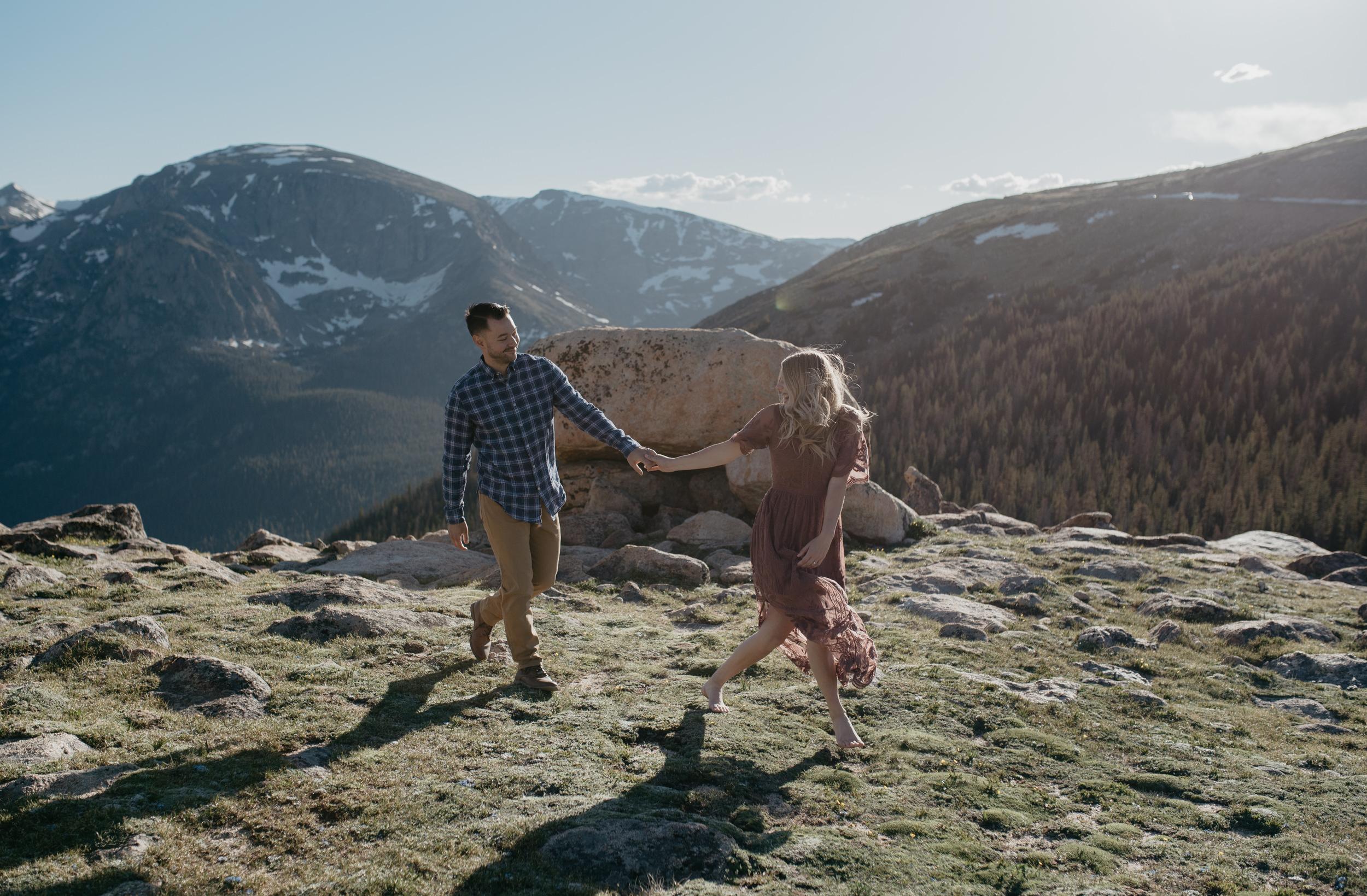 Colorado based mountain wedding and elopement photographer