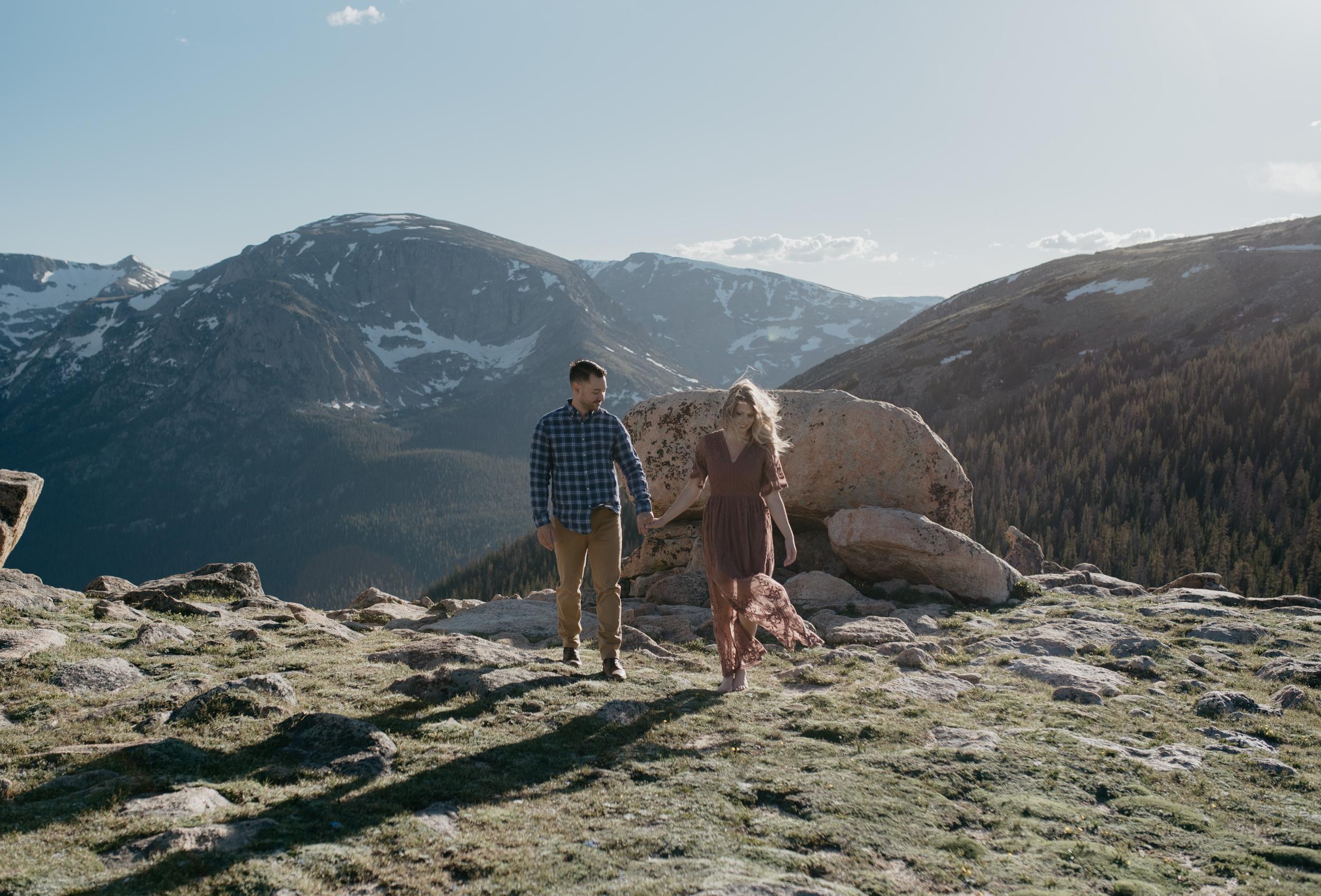 Adventure elopement photos in Colorado