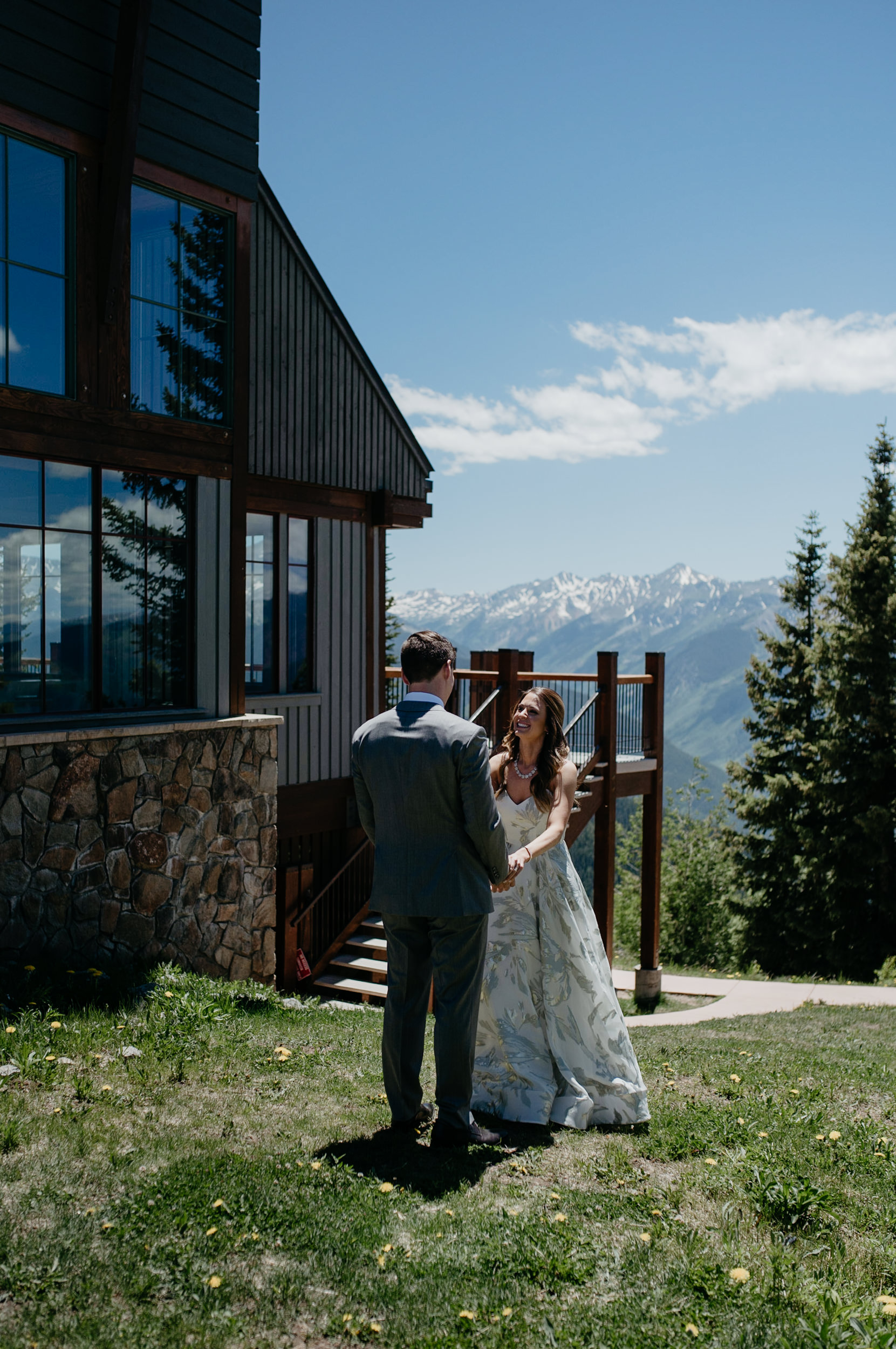 First look at The Little Nell in Aspen, Colorado. Aspen wedding and elopement photographer.