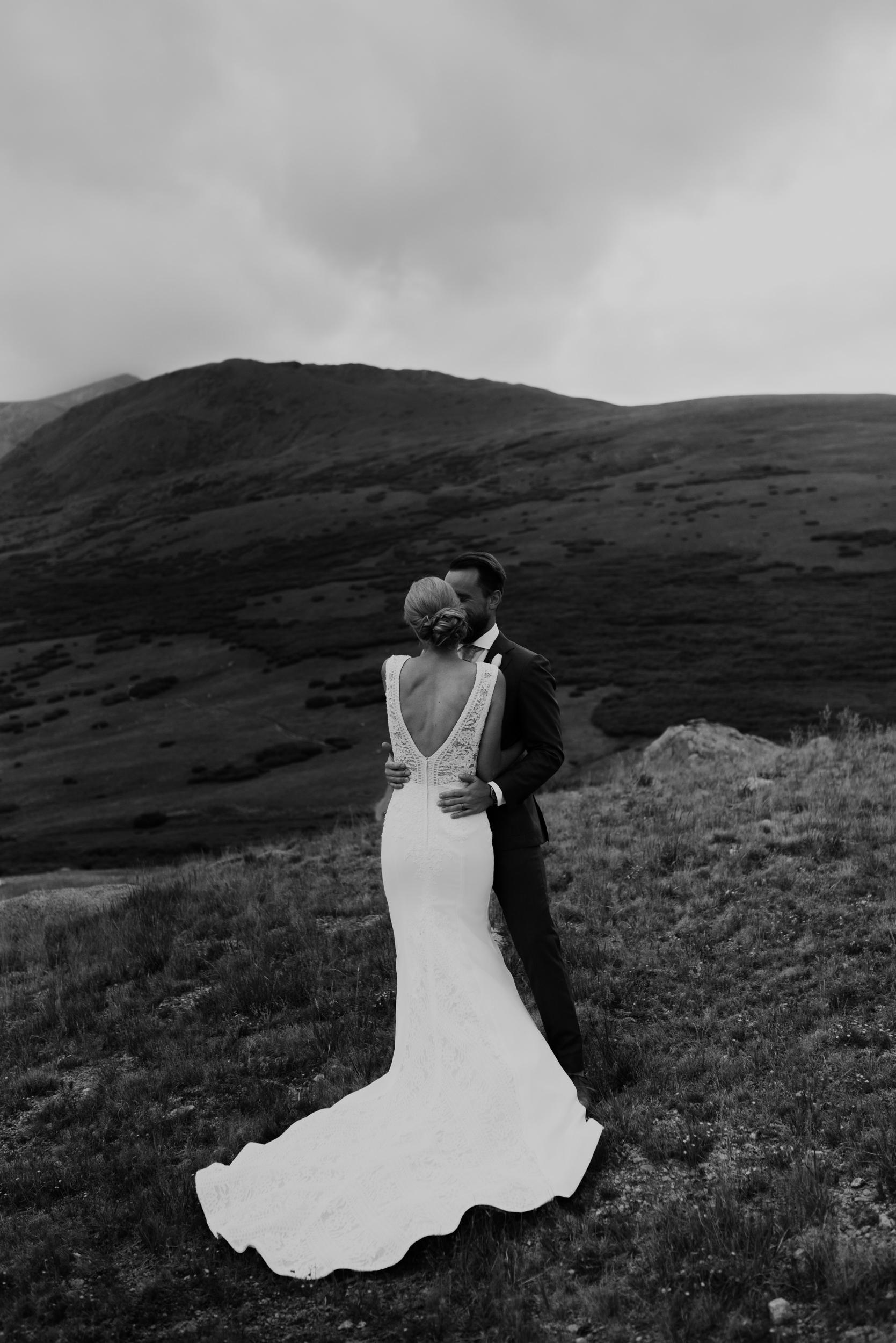 Georgetown, Colorado adventure elopement at Guanella Pass. Colorado elopement and wedding photographer.