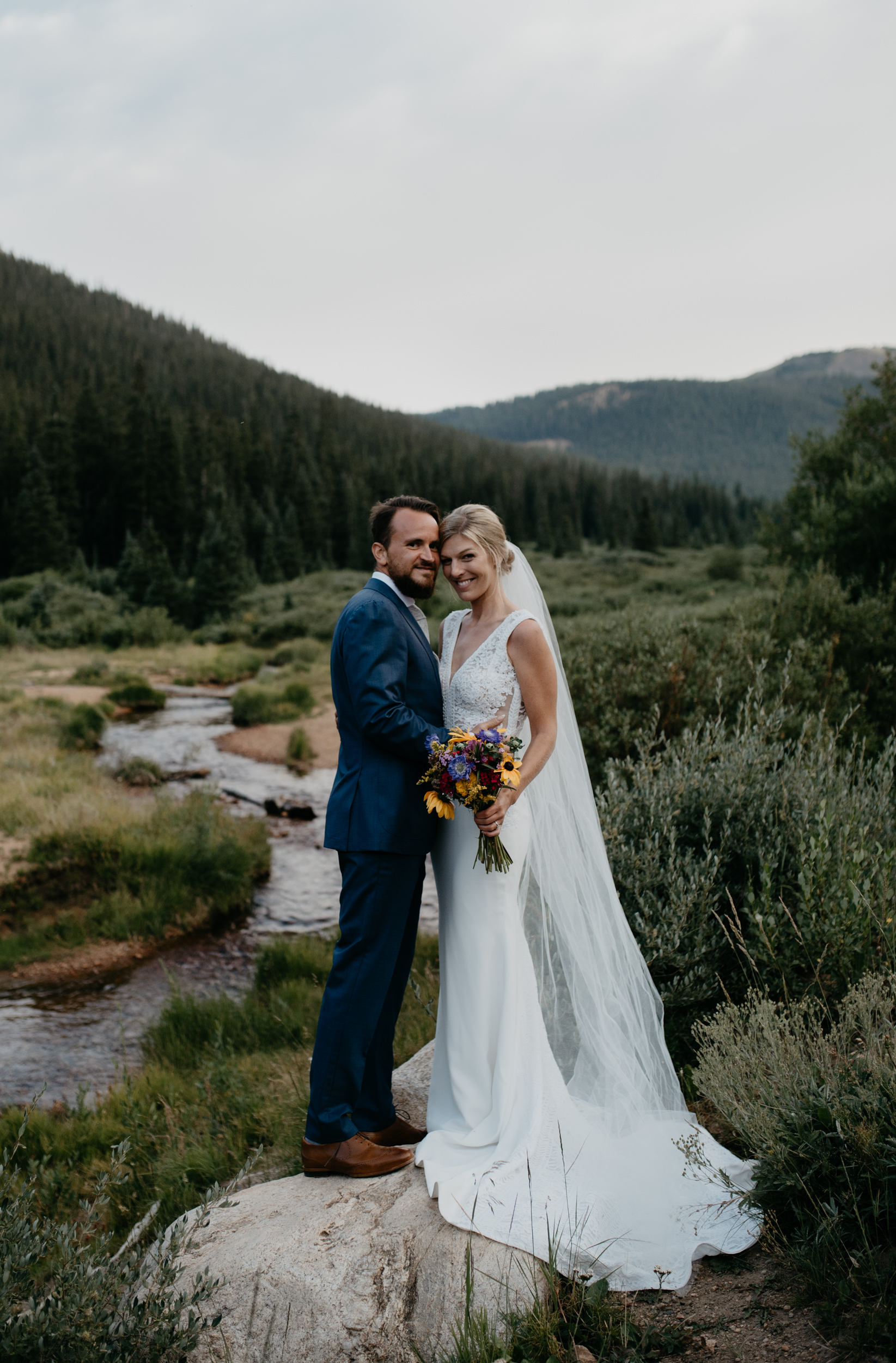 Guanella Pass elopement. Colorado elopement and wedding photography