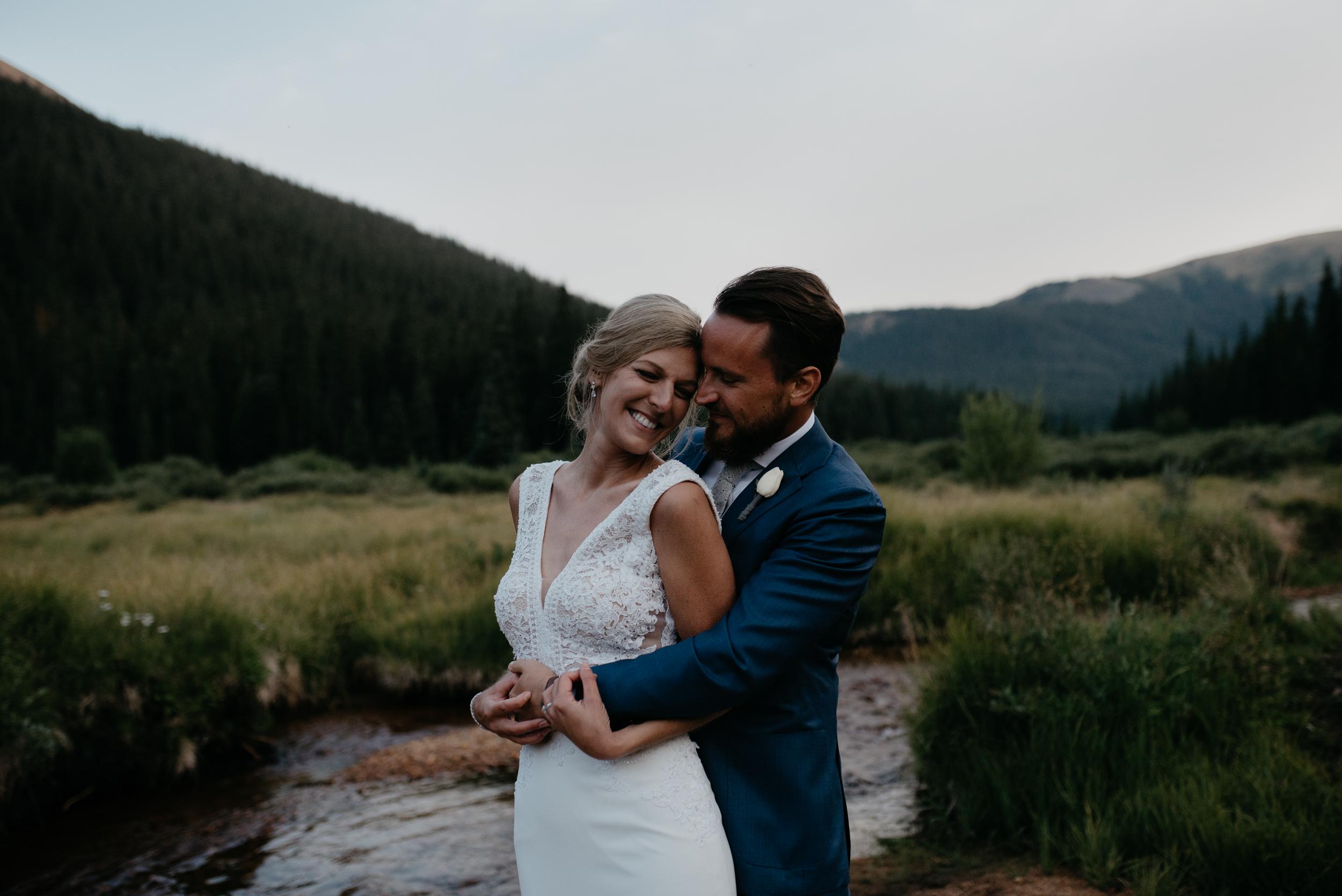 Colorado adventure wedding photographer.