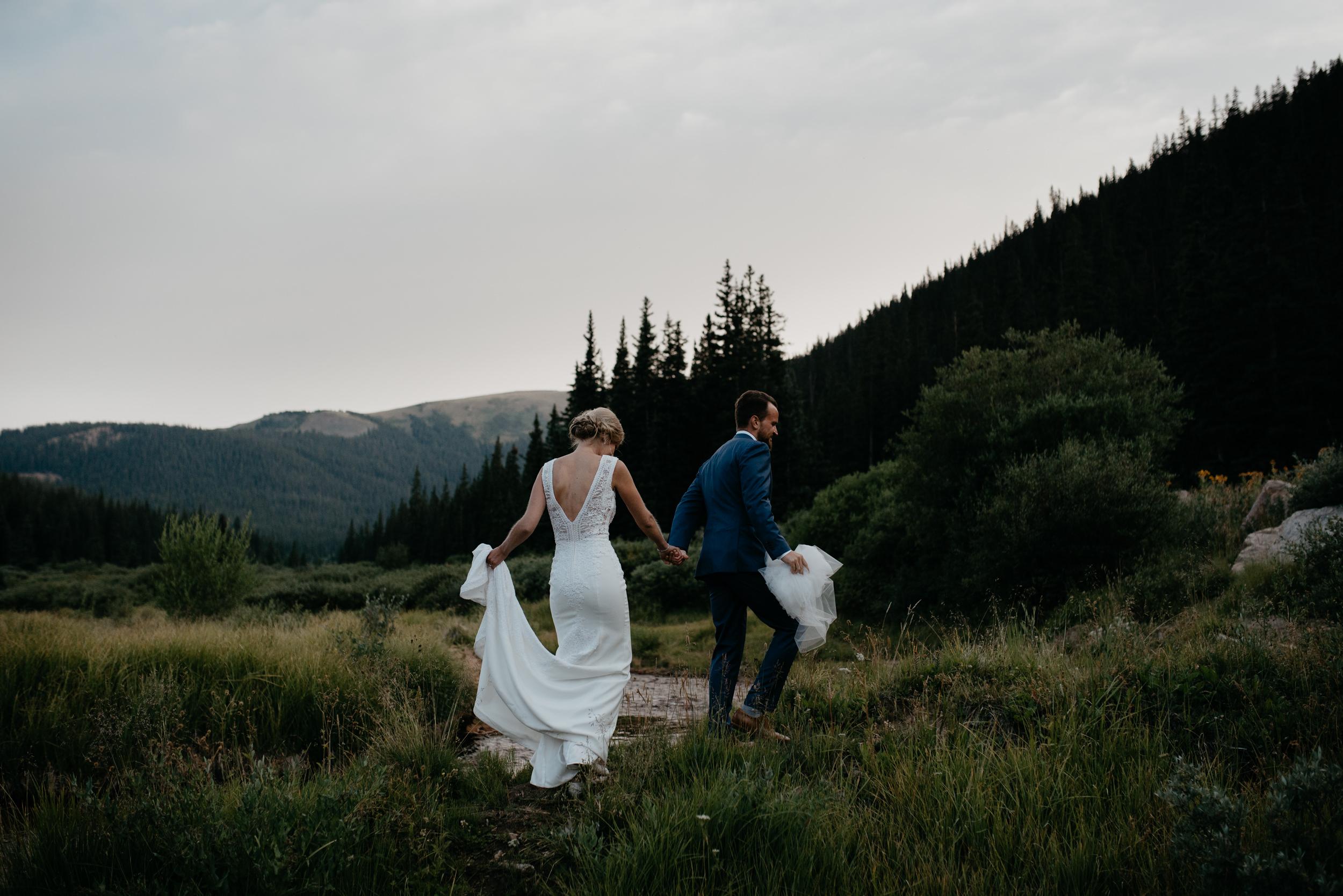 Colorado based adventure wedding and elopement photographer.