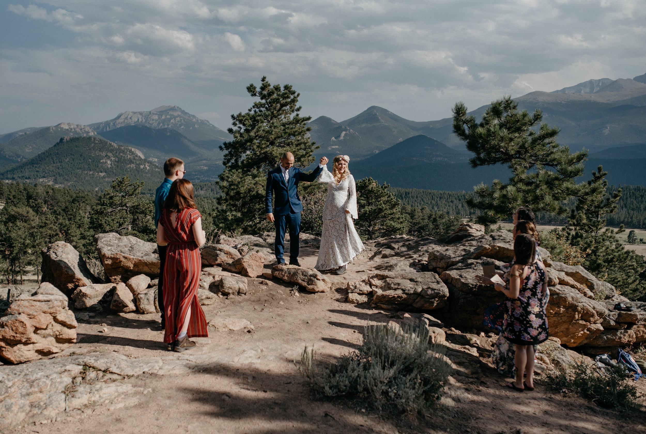 Rocky Mountain National Park elopement photographer. Denver, Colorado wedding photographer.