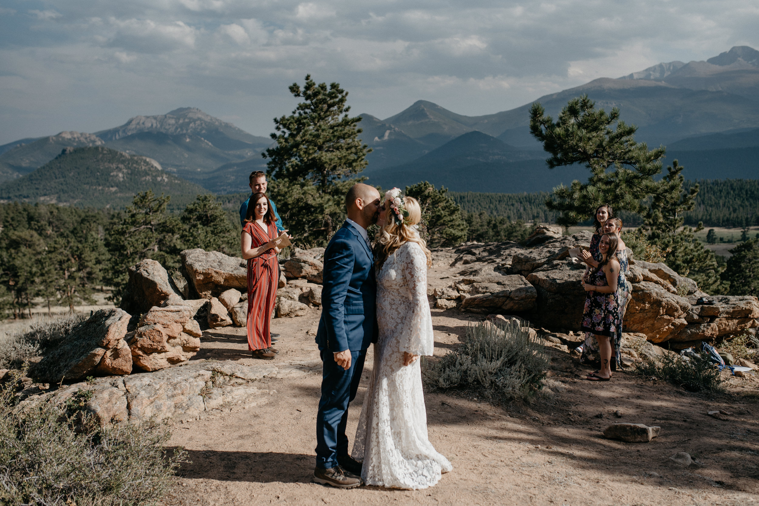 Rocky Mountain National Park elopement photography