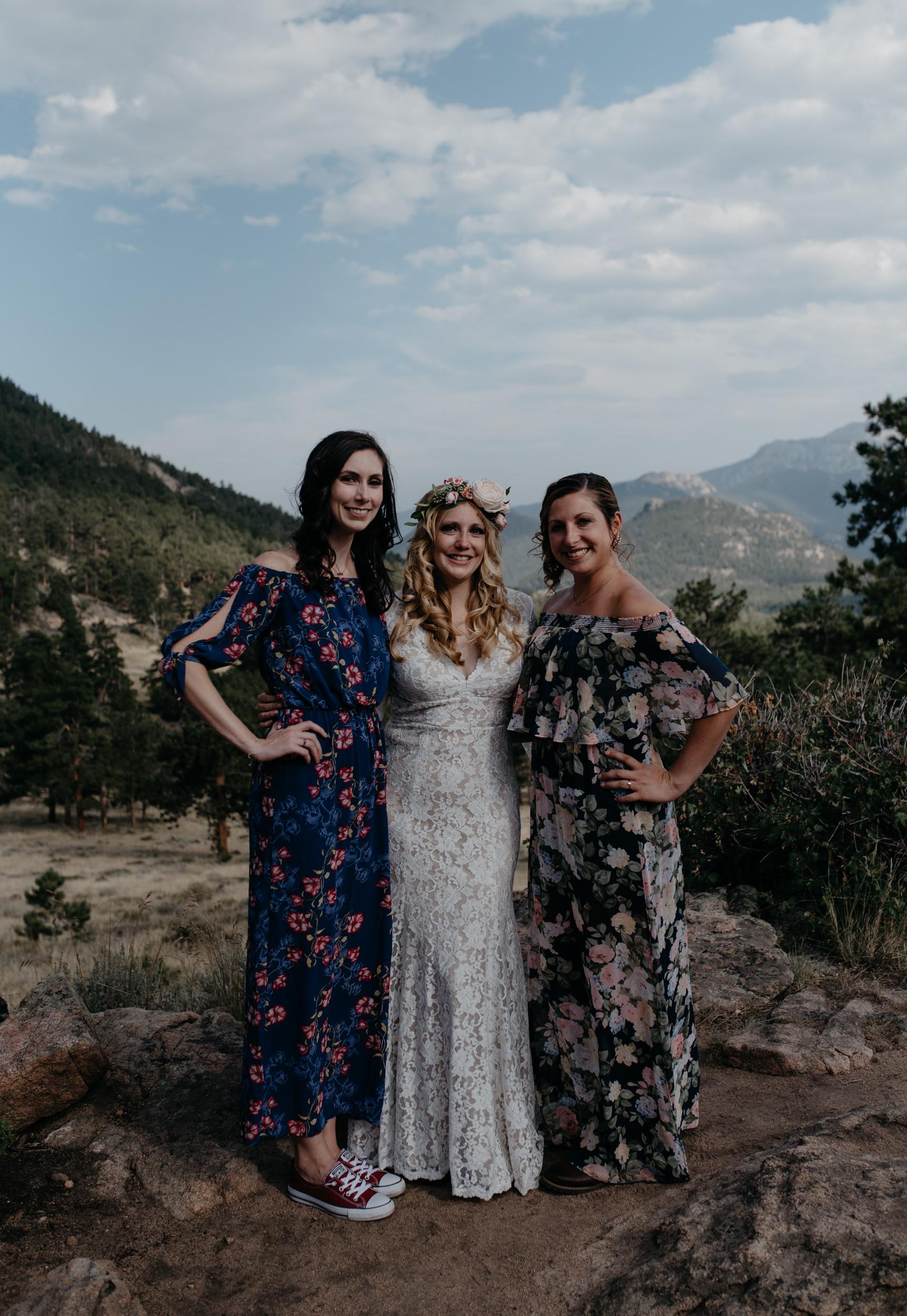 Family photos, Estes Park elopement photographer