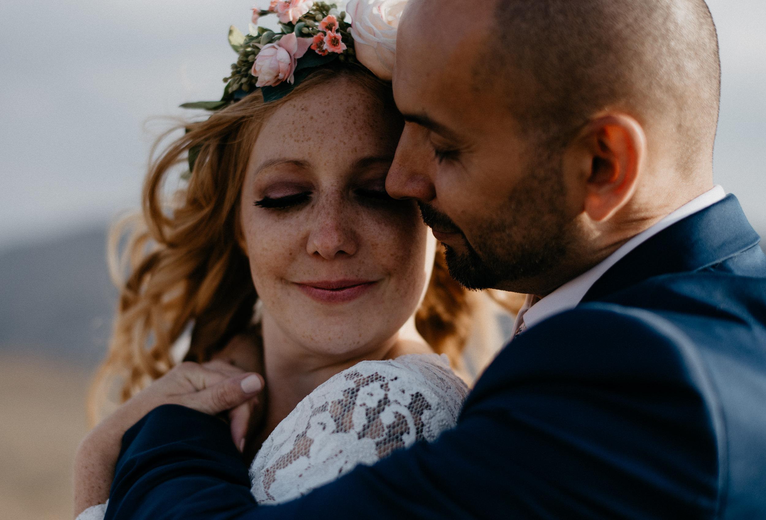 Rocky Mountain wedding photos in Colorado.