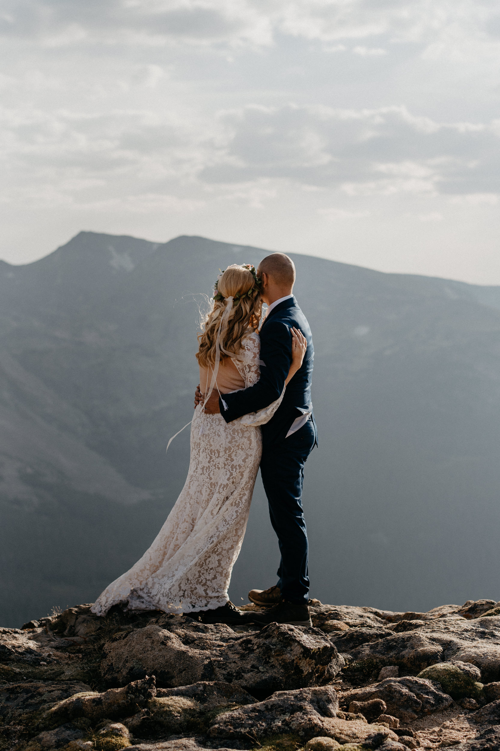 Colorado wedding photographer for adventurous elopements and mountain weddings.