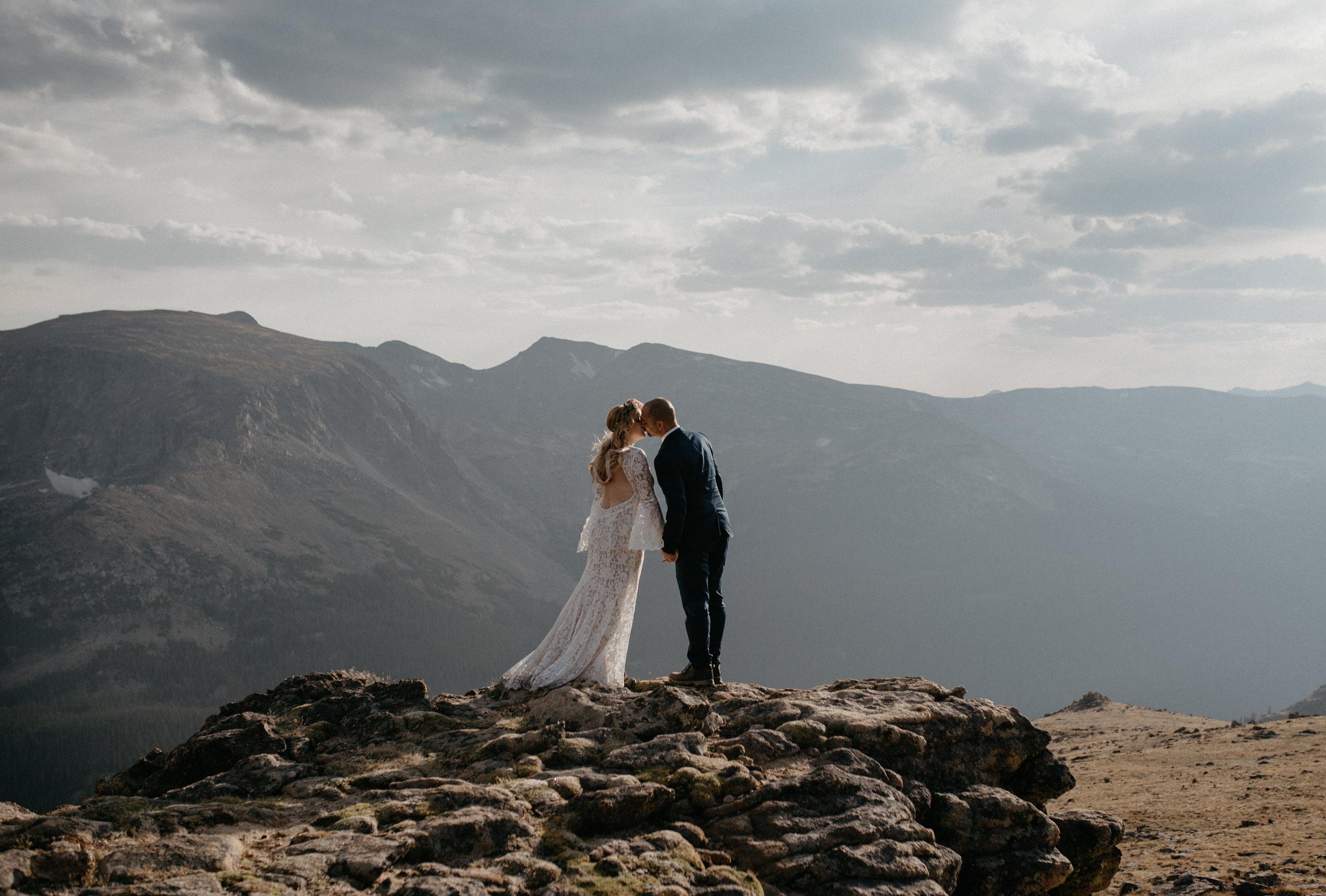 Rocky mountain wedding photographer based in Colorado.