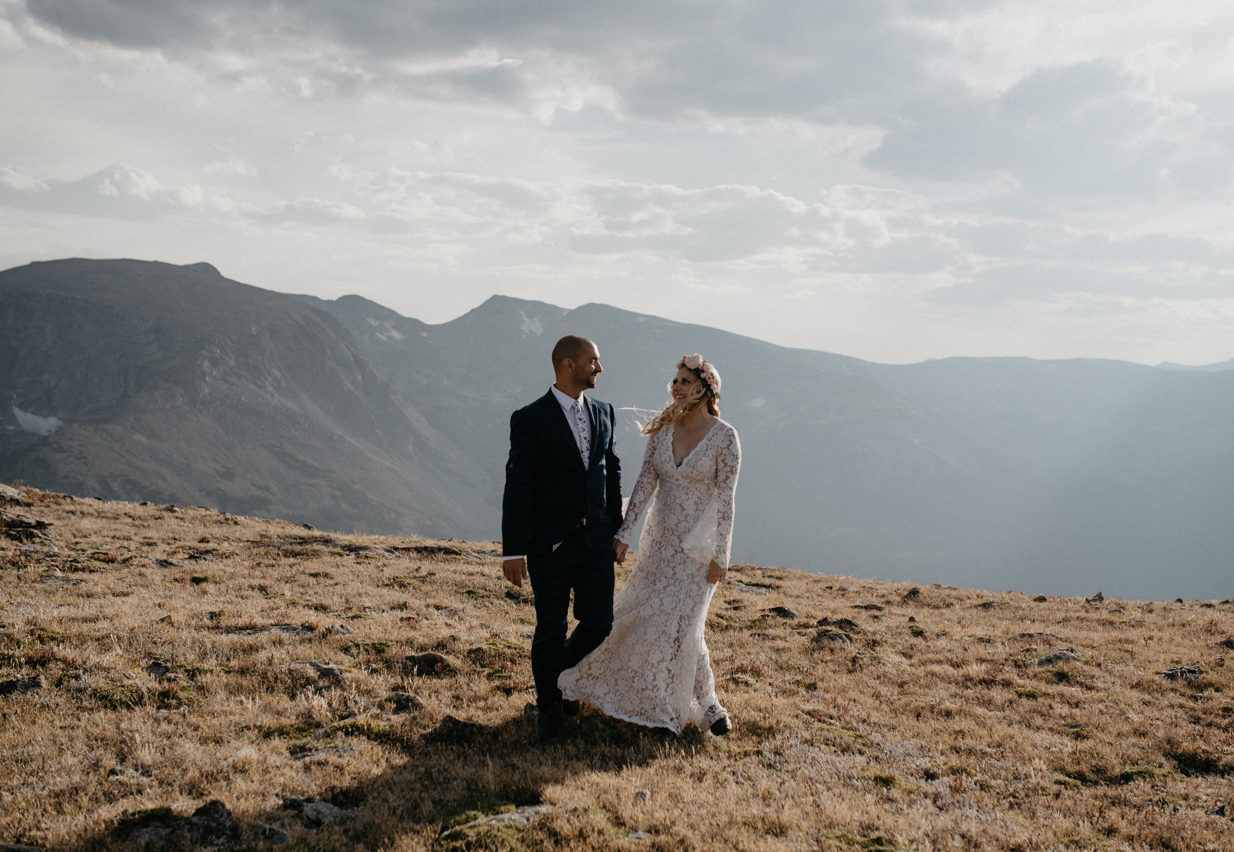 Colorado elopement photography based in Denver. Rocky Mountain National Park elopement.