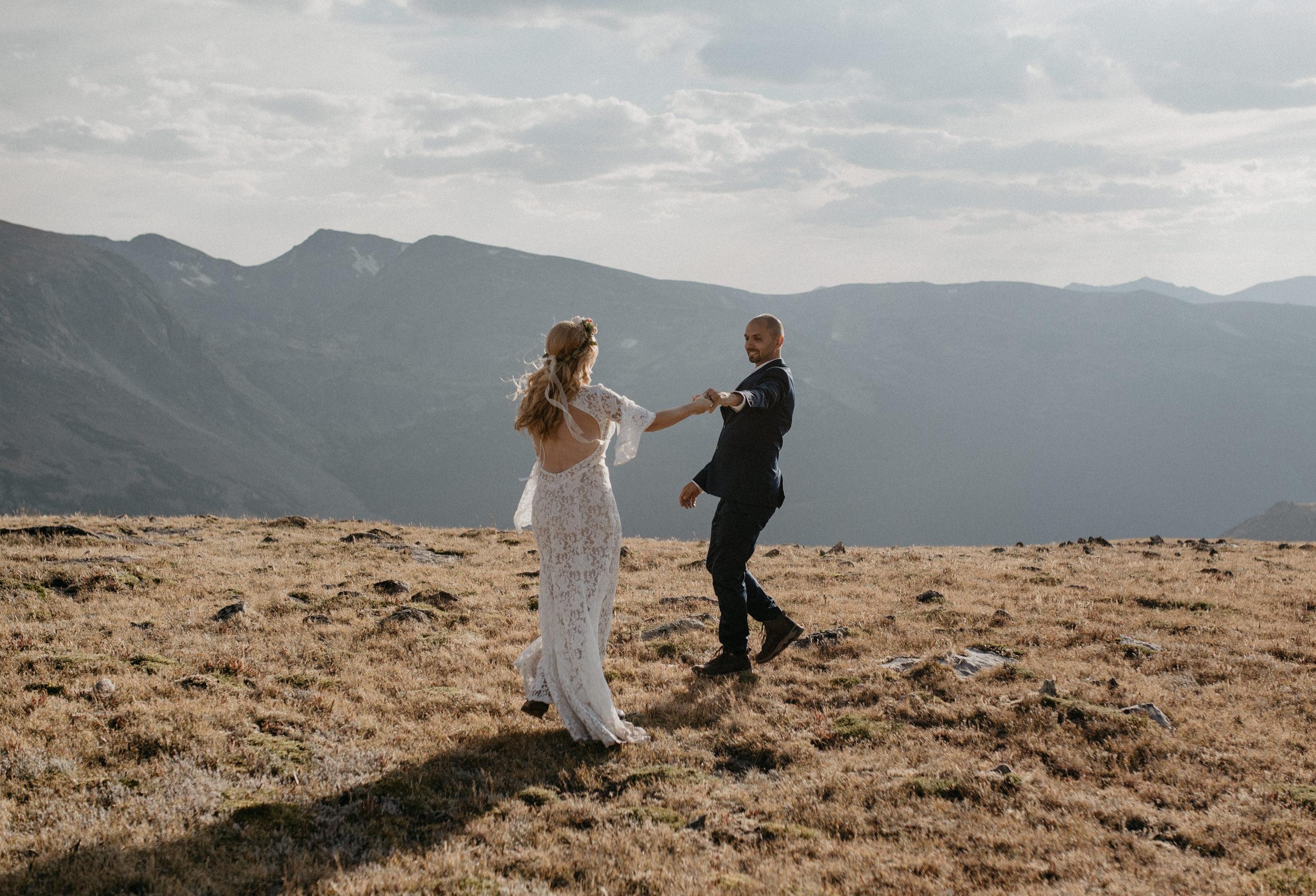 Colorado mountain wedding photographer, Alyssa Reinhold.