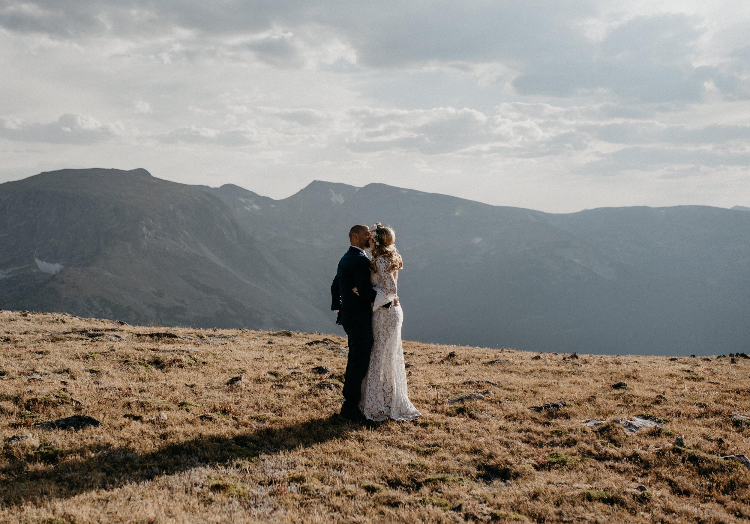 Colorado mountain elopement photographer.