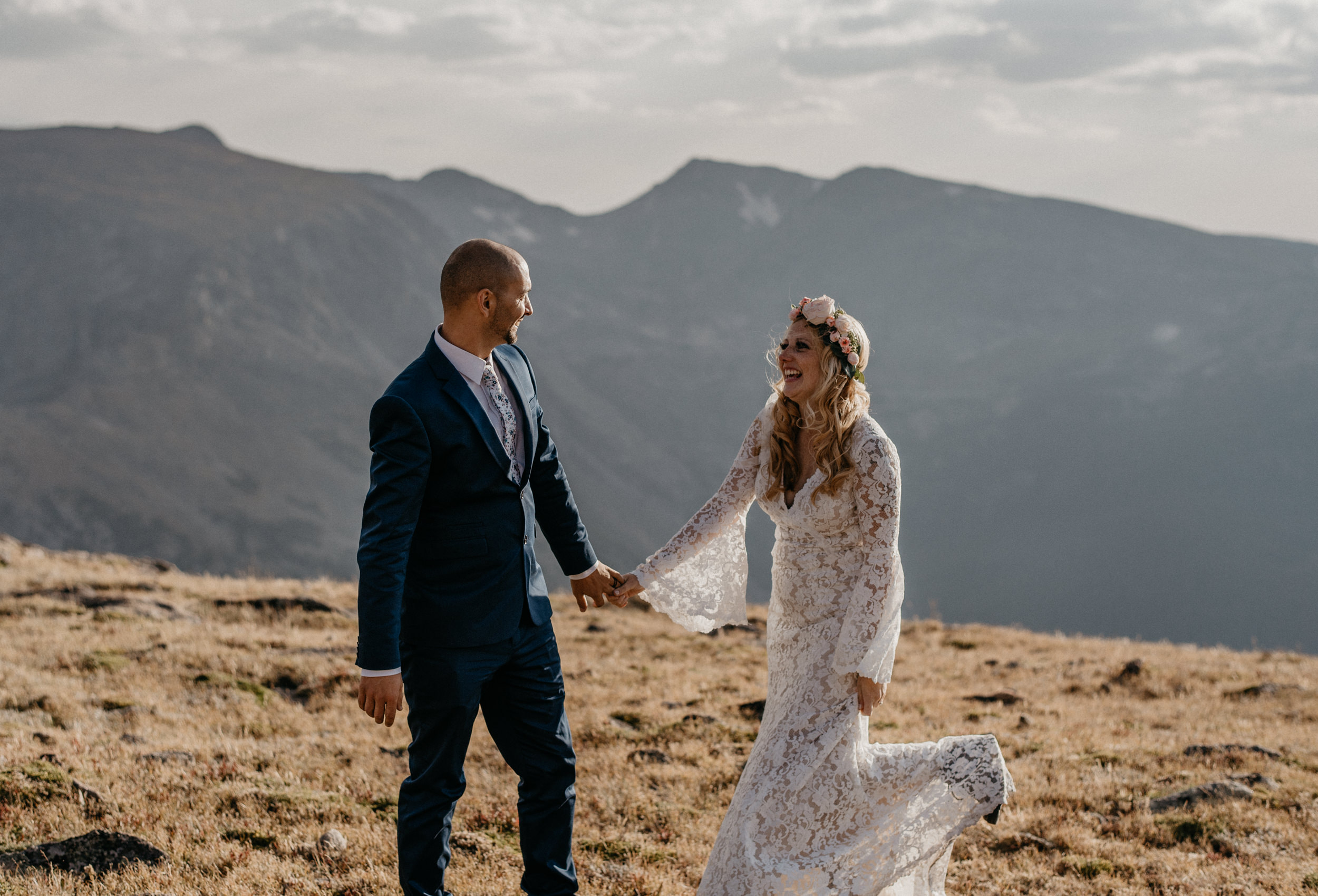 Colorado boho elopement and wedding photographer.