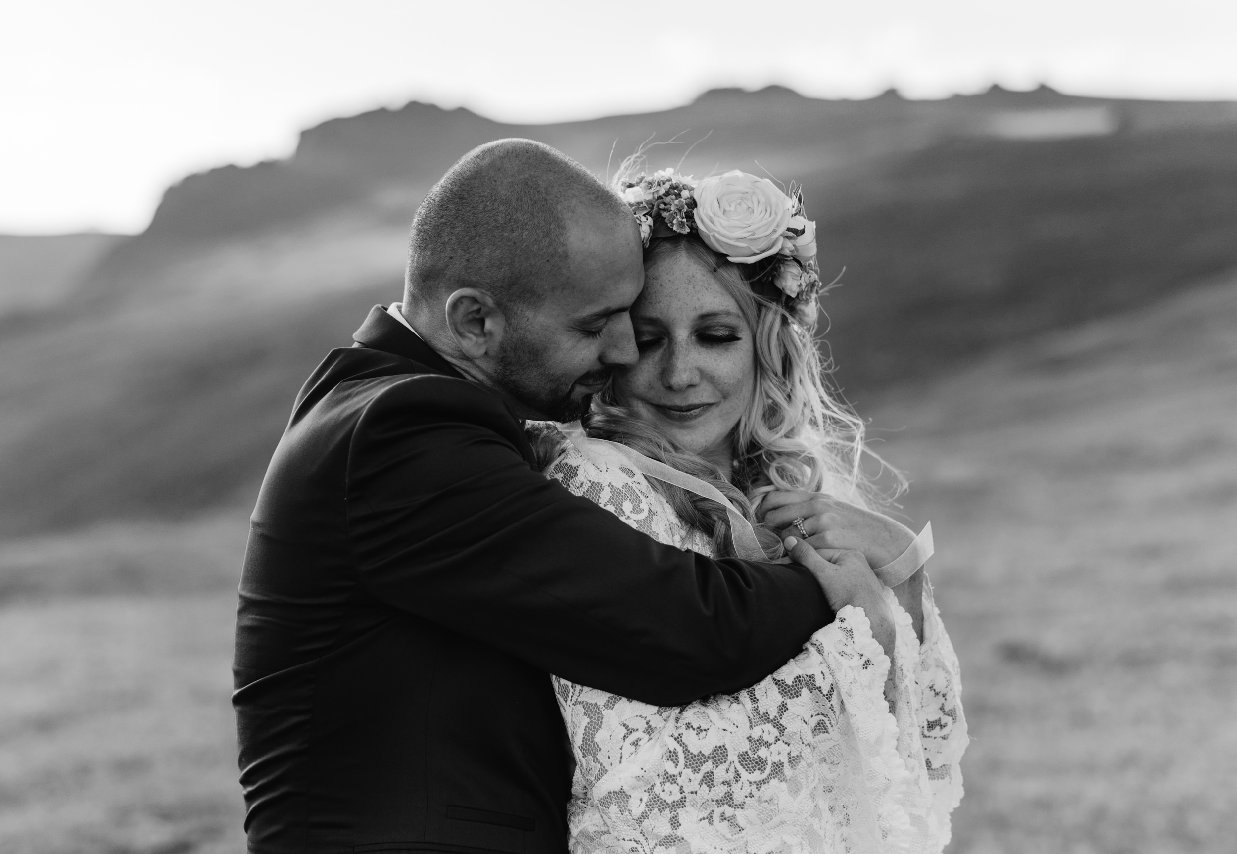 Colorado elopement at Trail Ridge Road in Rocky Mountain National Park.