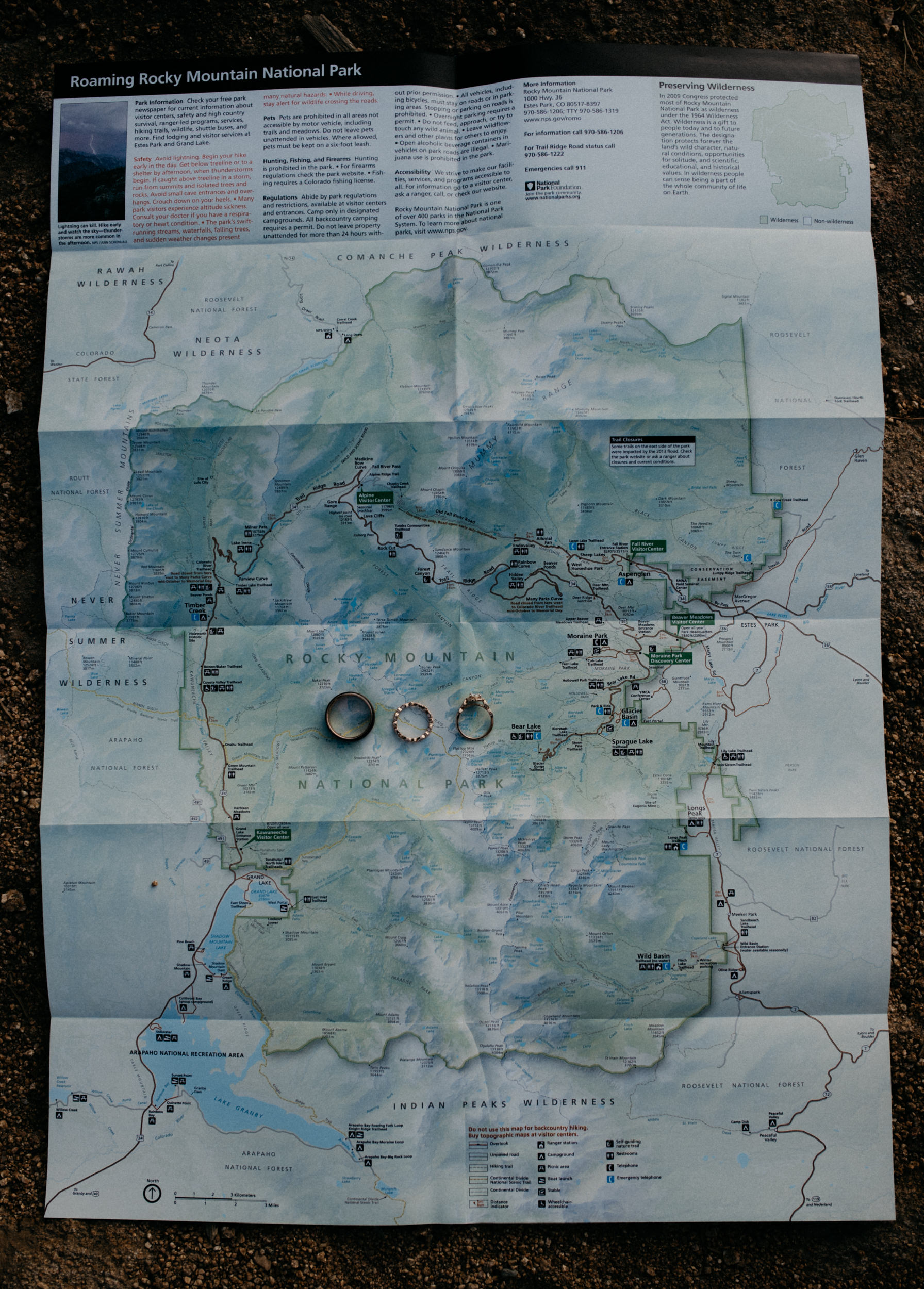 Rocky Mountain National Park adventure elopement inspiration in Colorado. Colorado elopement and wedding photographer.