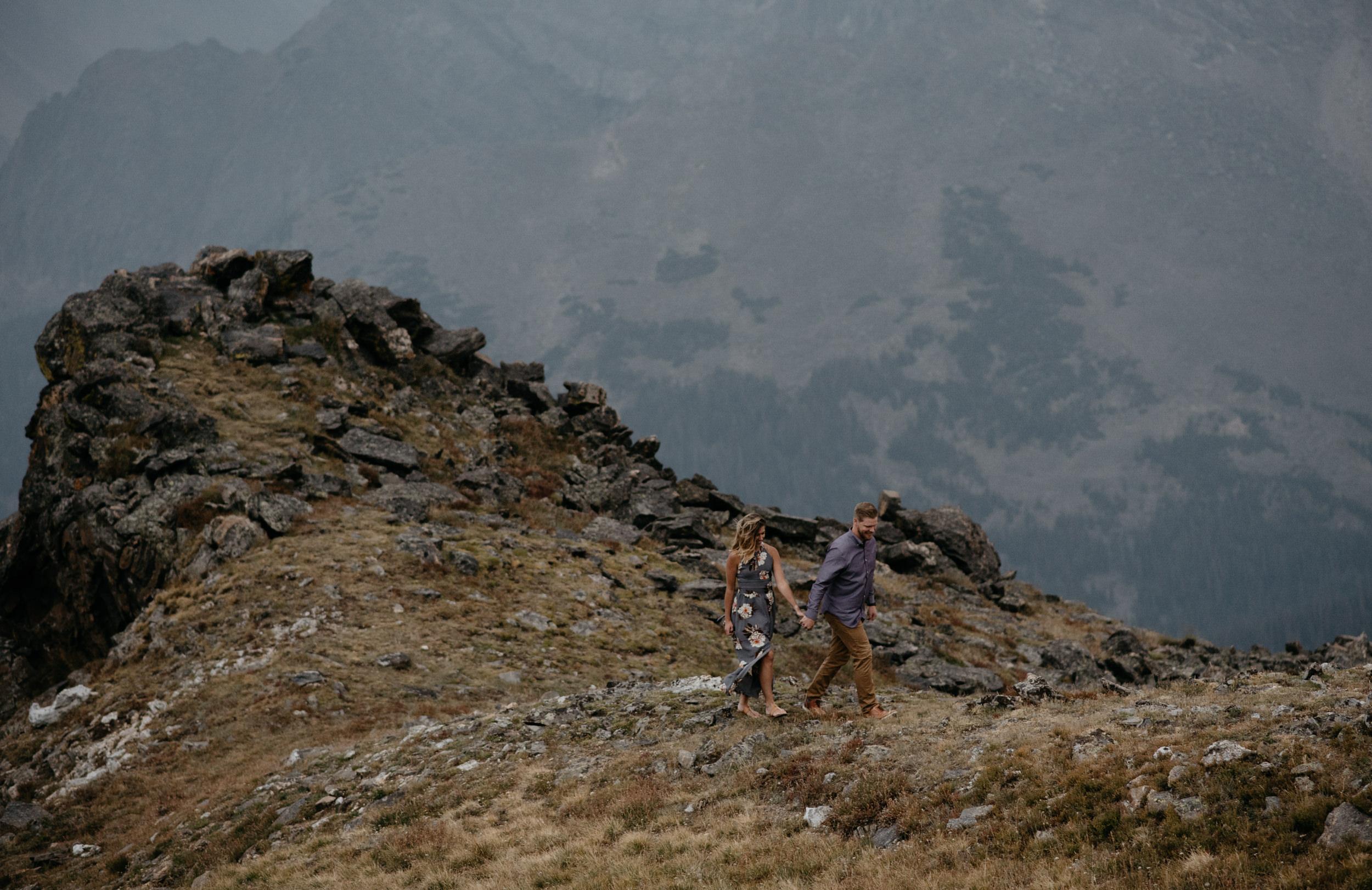 Rocky Mountain National Park elopement photos. Colorado elopement and wedding photographer.