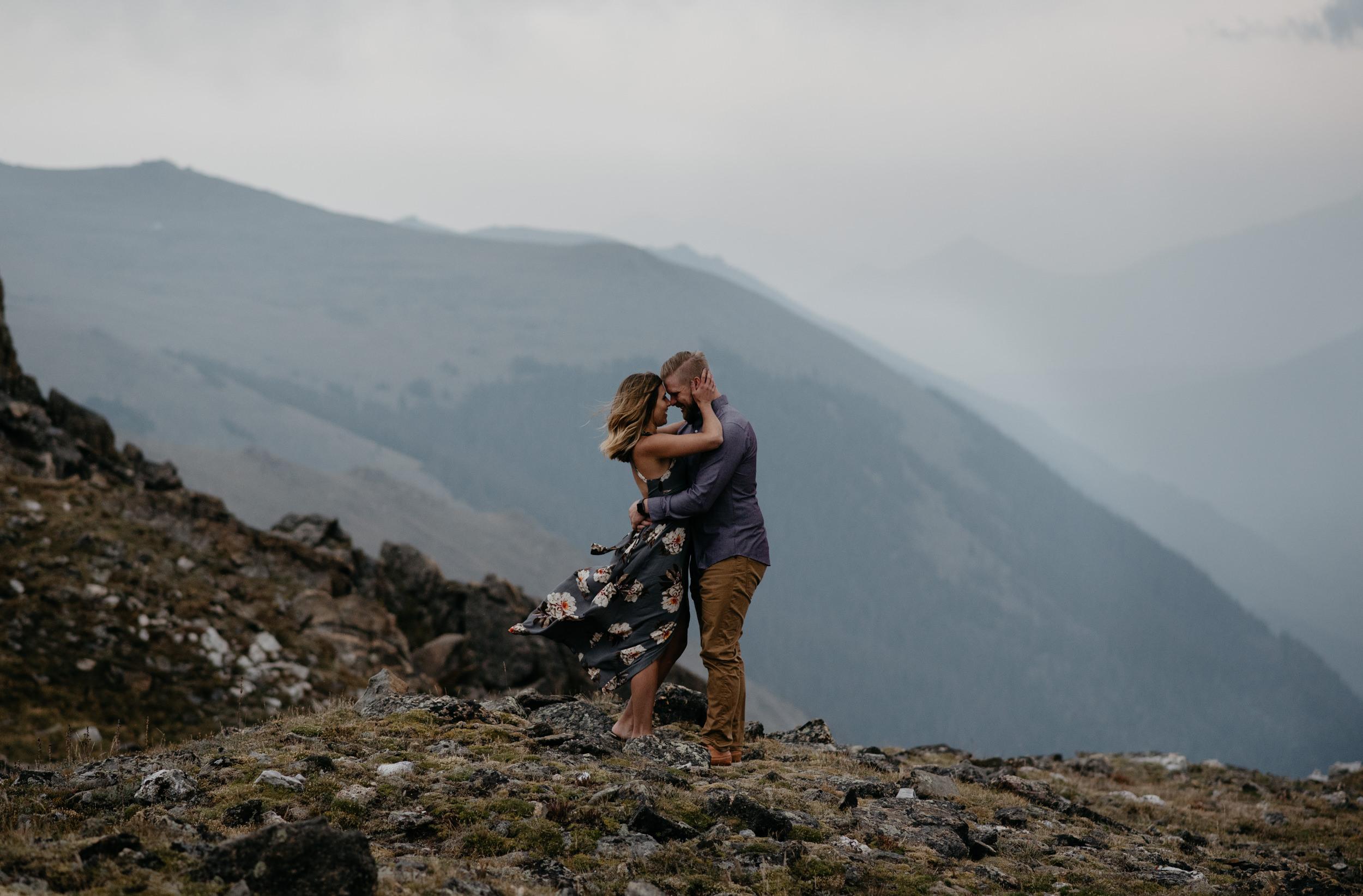 Alyssa Reinhold, Colorado wedding and elopement photographer. Trail Ridge Road elopement in Rocky Mountain National Park.