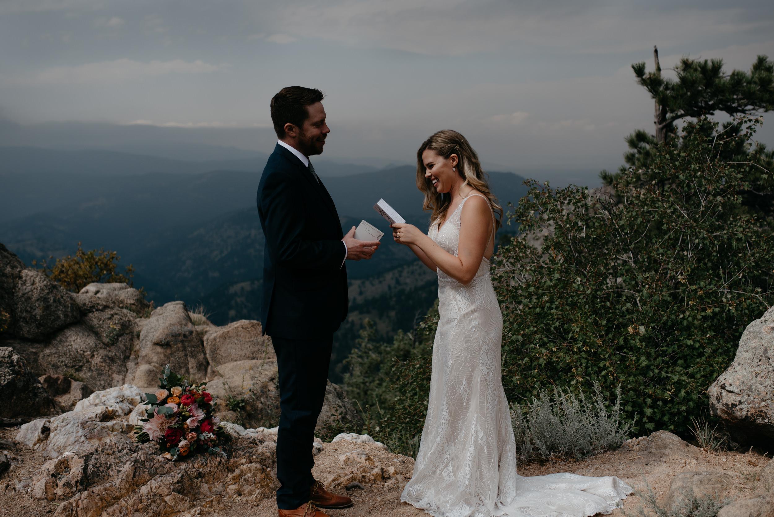 Lost Gulch elopement in Boulder. Boulder elopement and wedding photographer.