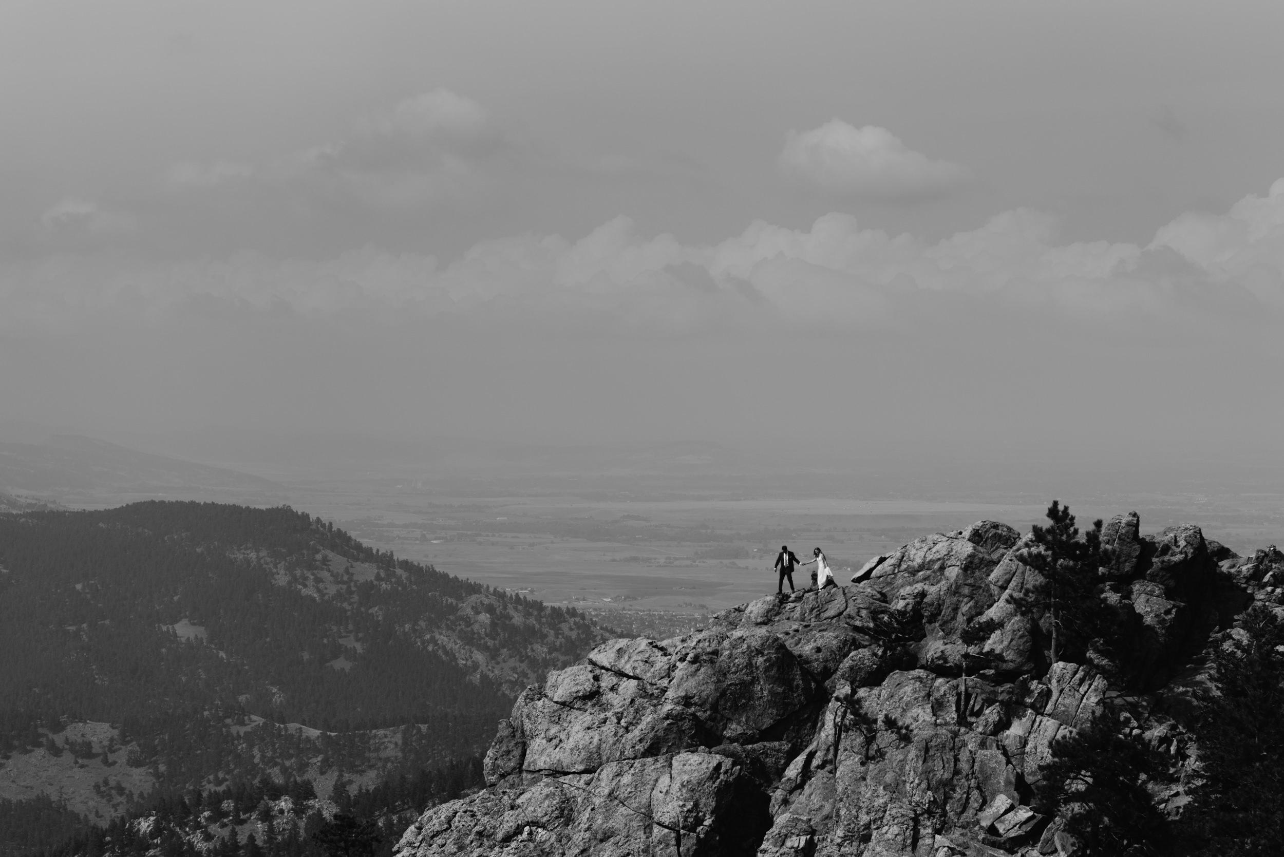 Lost Gulch elopement photos in Boulder. Boulder, Colorado wedding photographer.