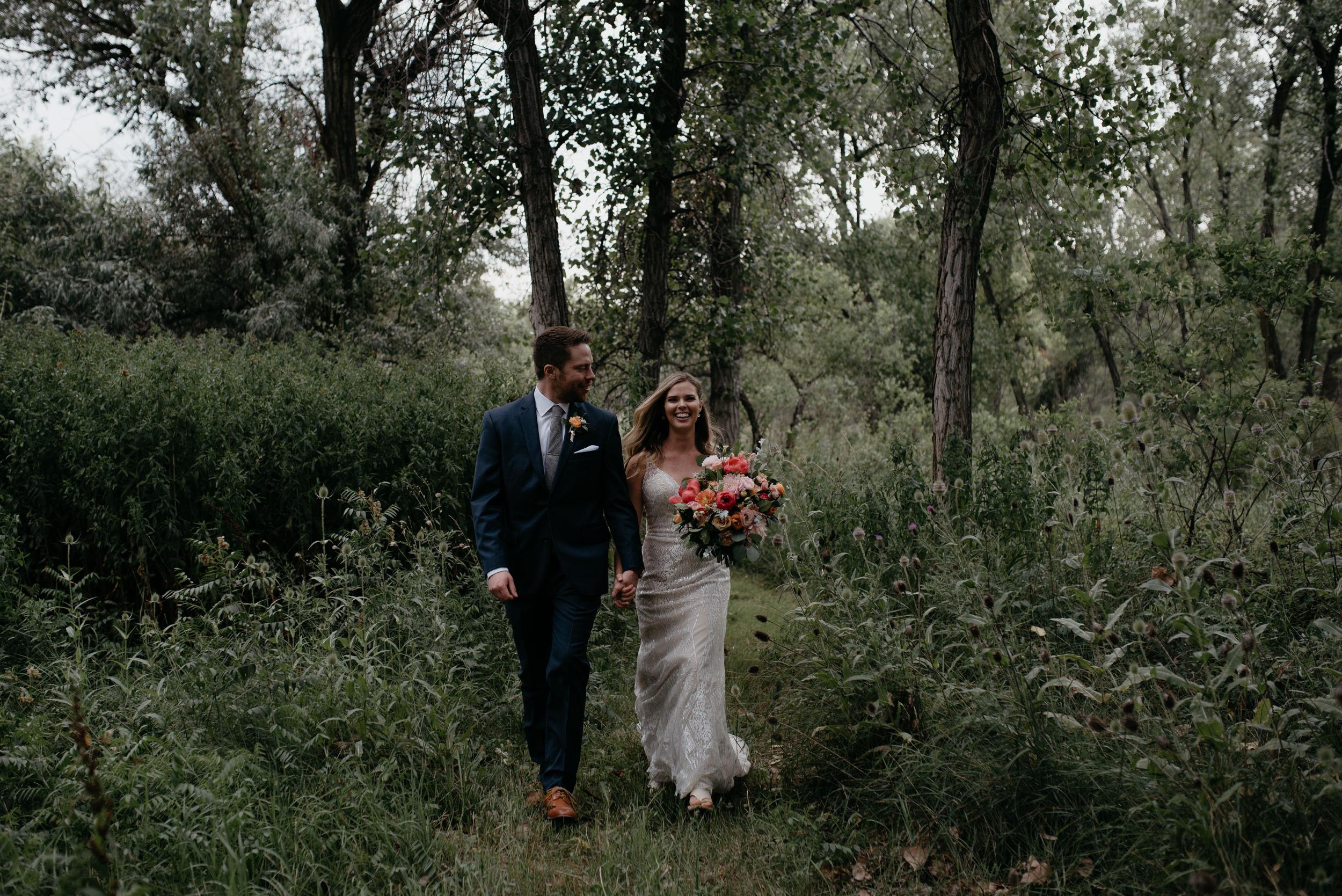 Boulder, Colorado adventure wedding and elopement photographer.