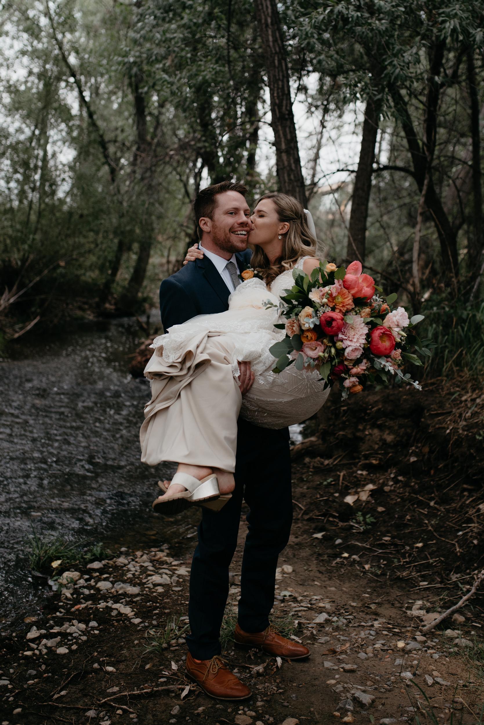 Boulder wedding and elopement photographer. Colorado adventure wedding photographer.