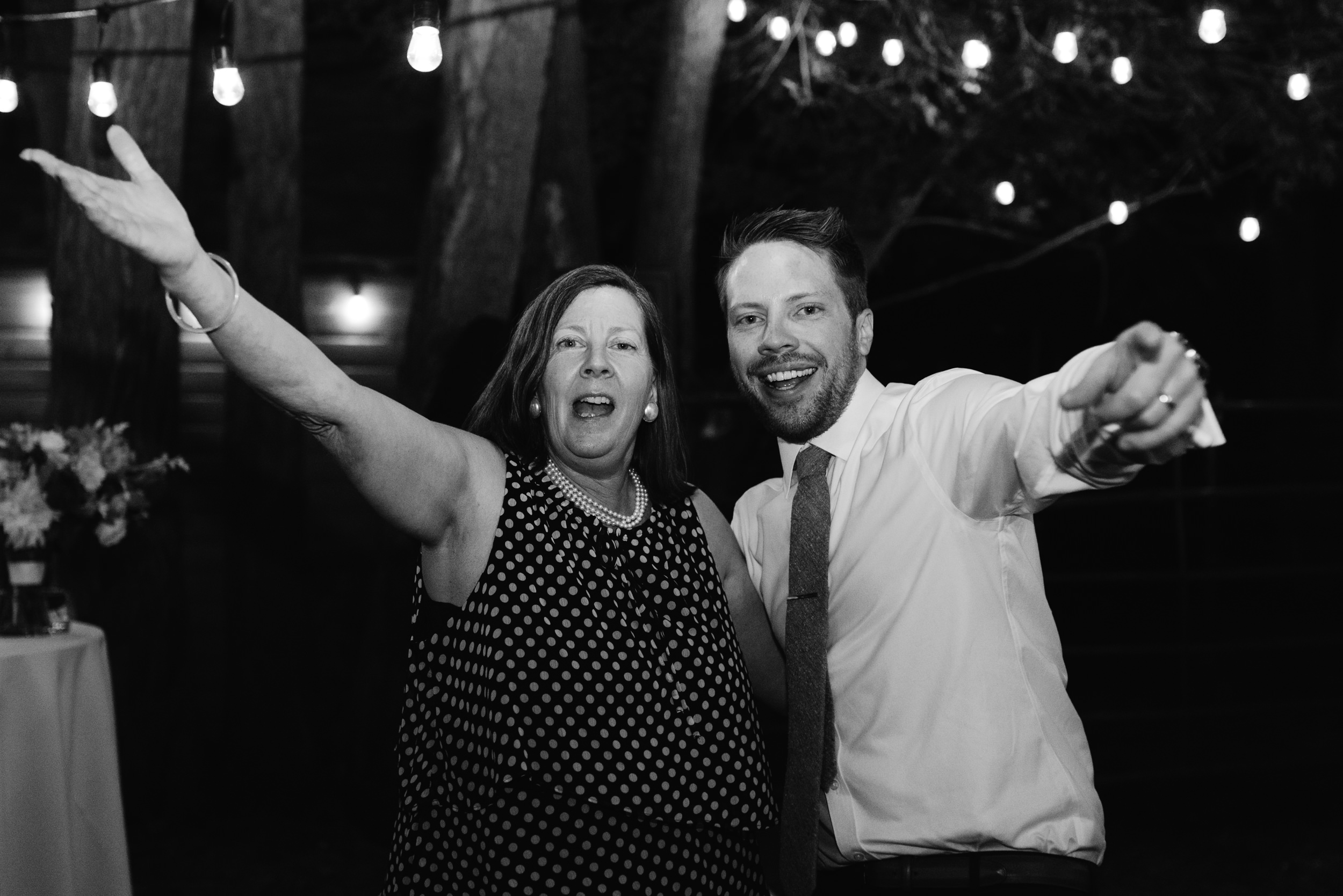 Mother and son dance. Boulder, Colorado wedding and elopement photographer.