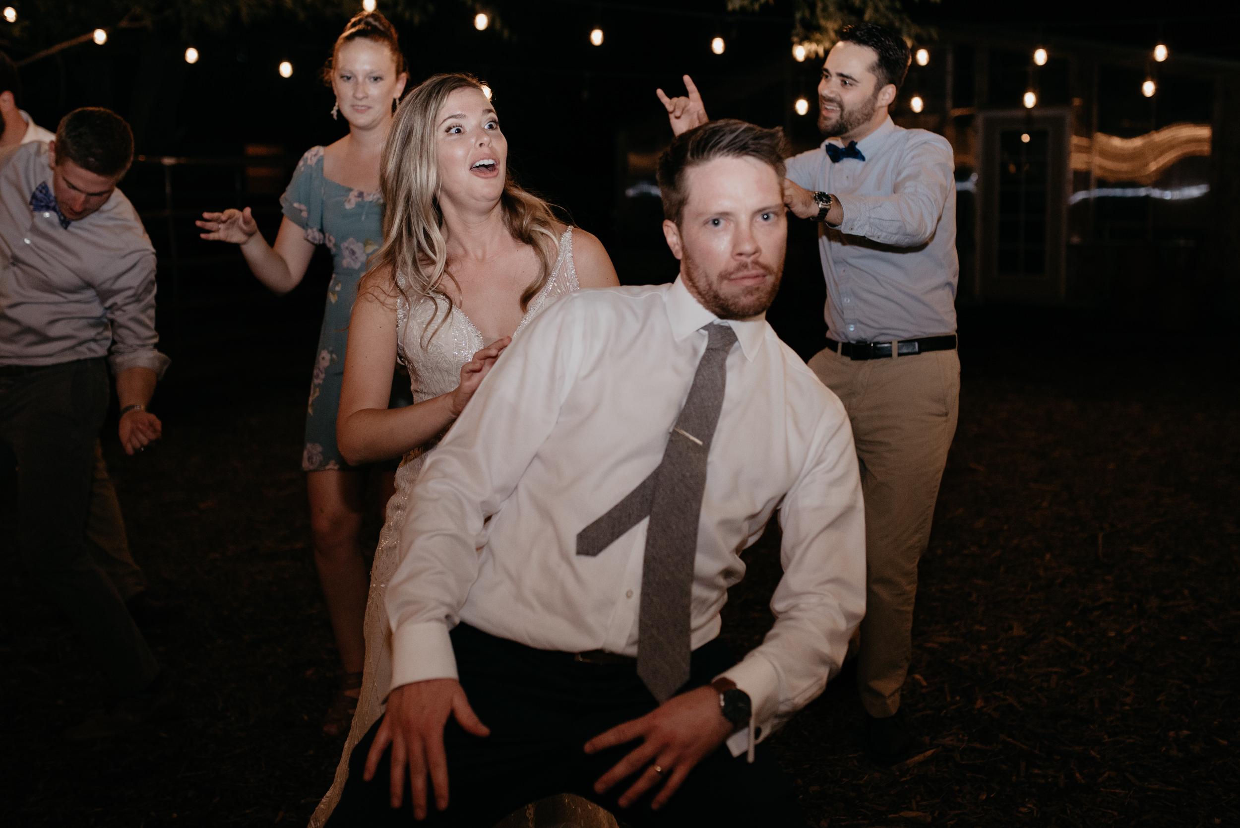Wedding reception in Boulder, Colorado. Colorado wedding and elopement photographer.
