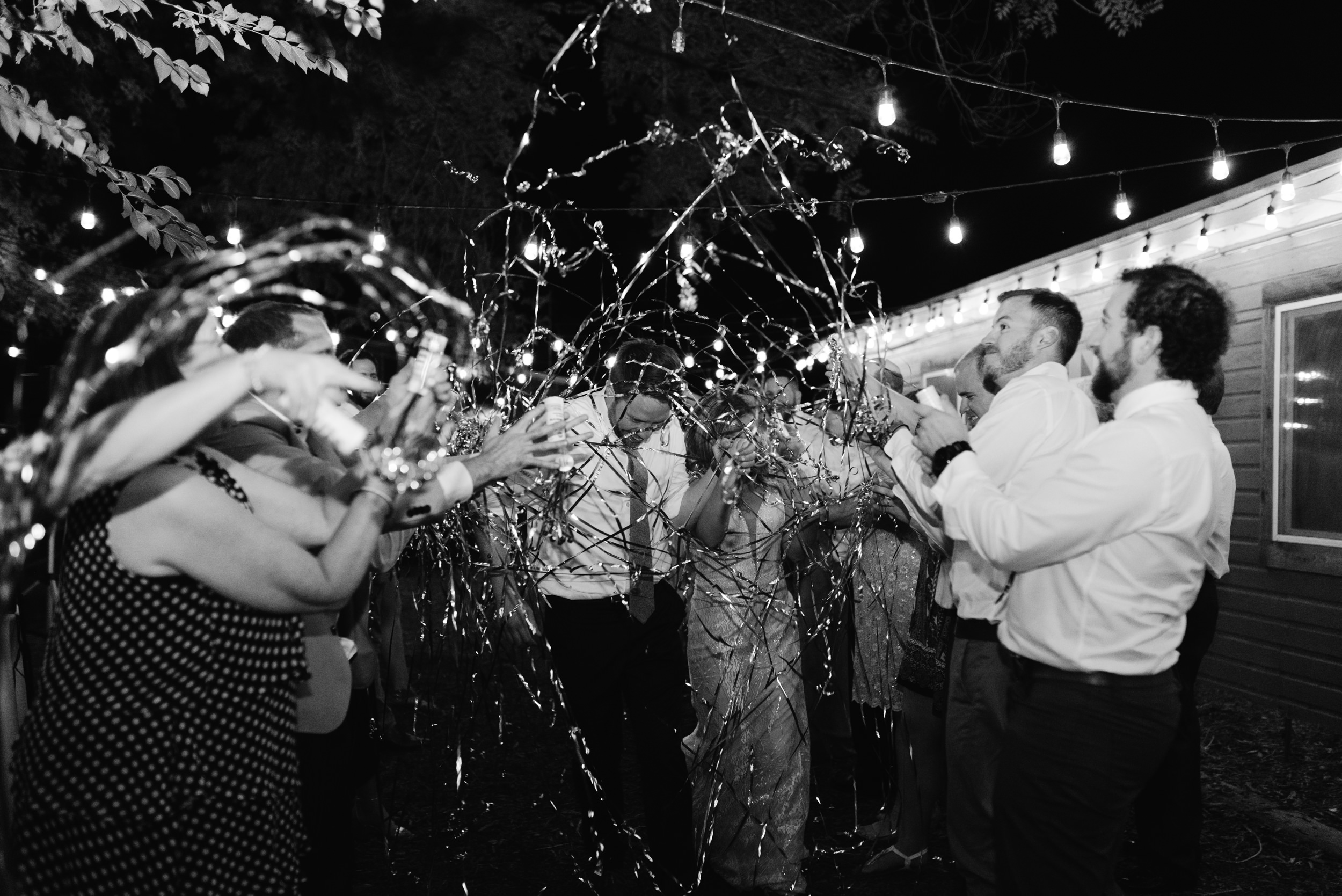 Wedding grand exit inspiration. Colorado wedding and elopement photographer.