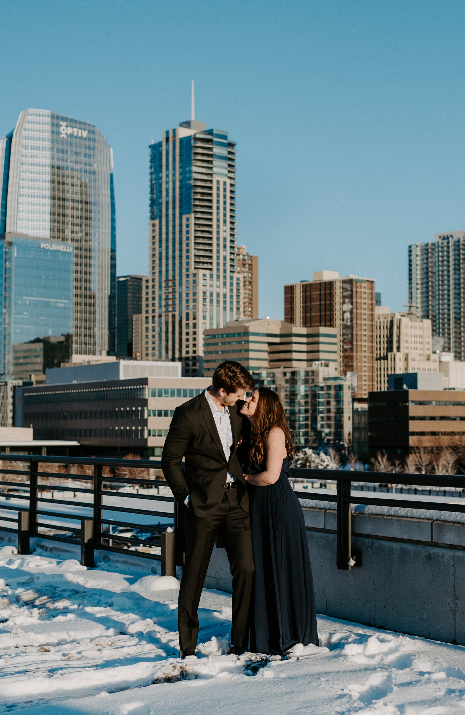 Denver engagement session locations. Downtown Denver engagement photos. Colorado engagement photography.