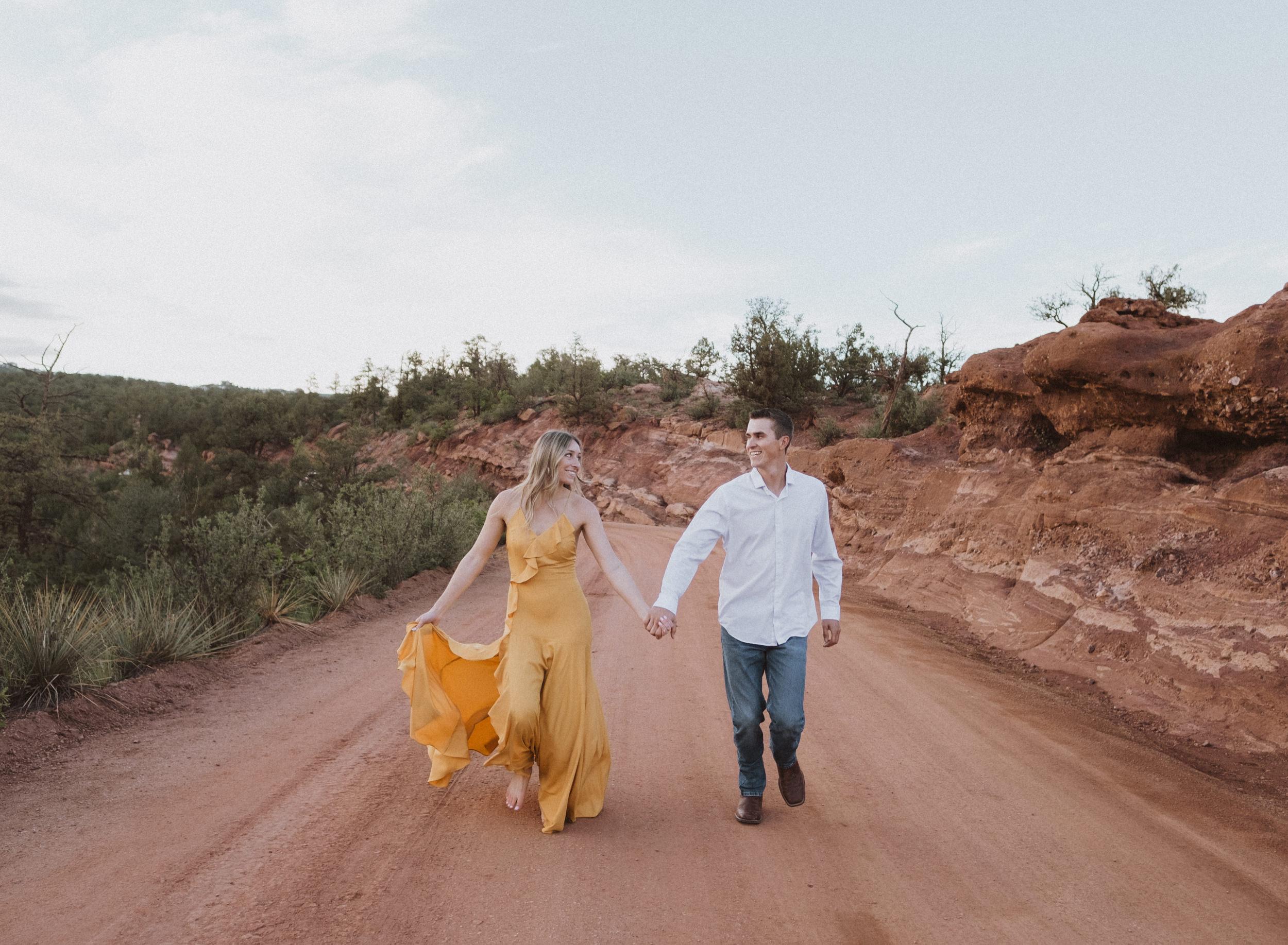 Garden of the Gods elopement photos. Colorado elopement photographer. Colorado Springs wedding photography. Garden of the Gods wedding photography.