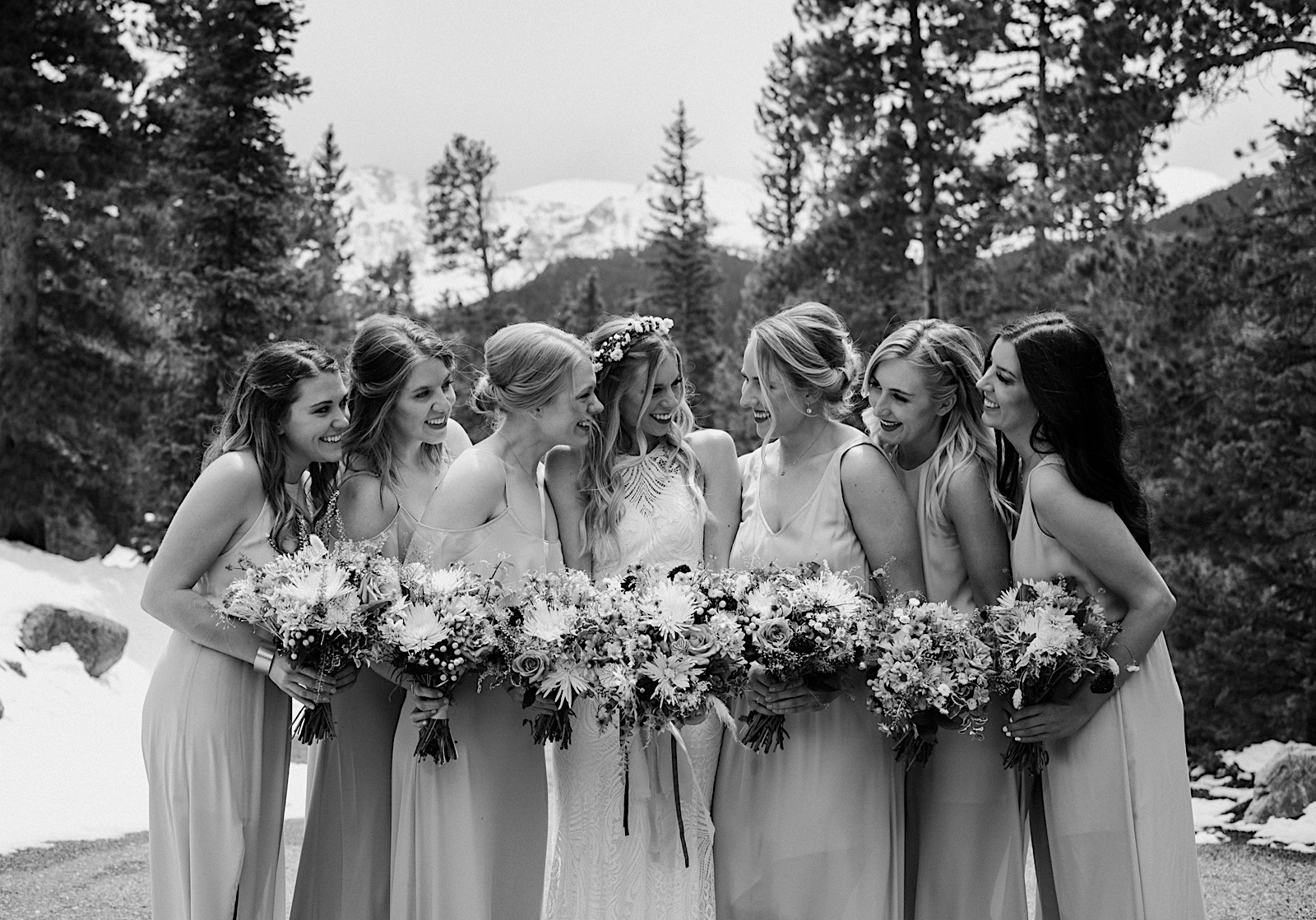 Blackstone Rivers Ranch Wedding, Colorado Wedding Photographer, Colorado Elopement Photographer, Colorado Mountain Wedding, Colorado Wedding Ideas, Colorado Wedding Inspiration, Destination Wedding in Colorado, Places to Elope in Colorado, Places to get married in Colorado, Boho Wedding Inspiration, Wedding Photography, Wedding ideas, Wedding Inspiration, Bridal Party Photos, Wedding party photos, bridesmaids photos, Bridesmaids bouquets, Bridesmaids dresses