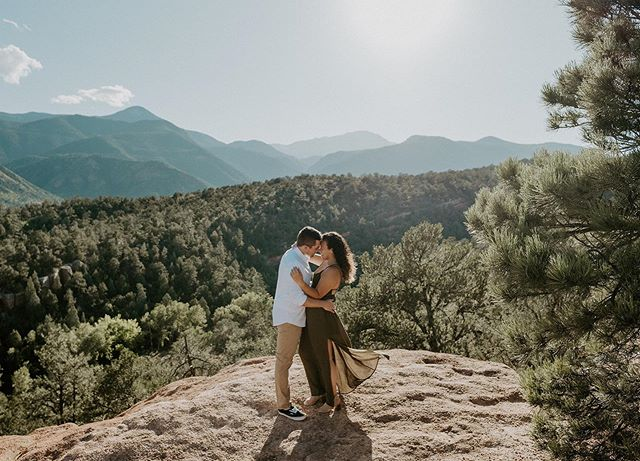 Meanwhile Denver is a winter wonderland ❄️ ⛄️ so here is a throwback from this dreamy warm summer engagement session 😍I am in a constant state of wanting winter when it's summer, and wanting summer when it's cold 😂 anyone else the same way?? 🤪• • • • • • • • • • • • • • • #gardenofthegods #gardenofthegodsengagement #coloradospringswedding #coloradospringsweddingphotographer #coloradoweddingphotographer #coloradowedding #coloradobride #coloradoengagement