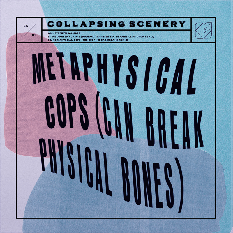 """Collapsing Scenery -  Metaphysical Cops : 12"""" single"""