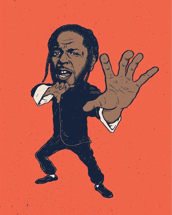 I have no idea who made this but I want it on a shirt. I'm not sure if any of you are kendrick fans. I personally am a HUGE kendrick lamar fan. If you haven't listened to him I highly recommend you do. His lyrics are very strong and his style is very different than a lot of the rappers today. As you may have noticed they all rap about the same irrelevant things... Kendrick however, raps about politics, life, religion and more.If you like jazz you should listen to his album To Pimp a Butterfly, it has a lot of jazz/ political rap. His lyrics are absolute poetry. Give him a listen :) you won't regret it. His latest album DAMN. is something I can listen to in the gym while I'm working out.. it gets me pumped up. His song Backseat freestyle is also something i like to listen to in the gym.Sooo this is my first time doing one these posts....I guess what i'll be doing is posting cool images and just writing about them. I like collecting unique images I find on the internet so i might as well display my collection :) (i have collected a lot of images over the years). I'll also be sharing some of the projects that i am working on with you/my creative process.Comment your favorite kendrick album, verse, and song. I'd love to hear em!And if you haven't ever listened to him look at the video below and tell me what you think. -