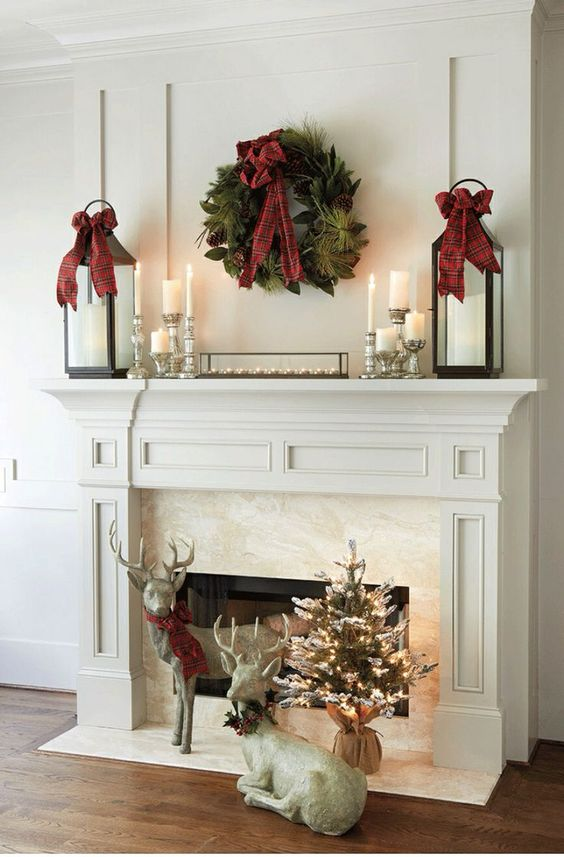 Christmas mantel lanterns.jpg
