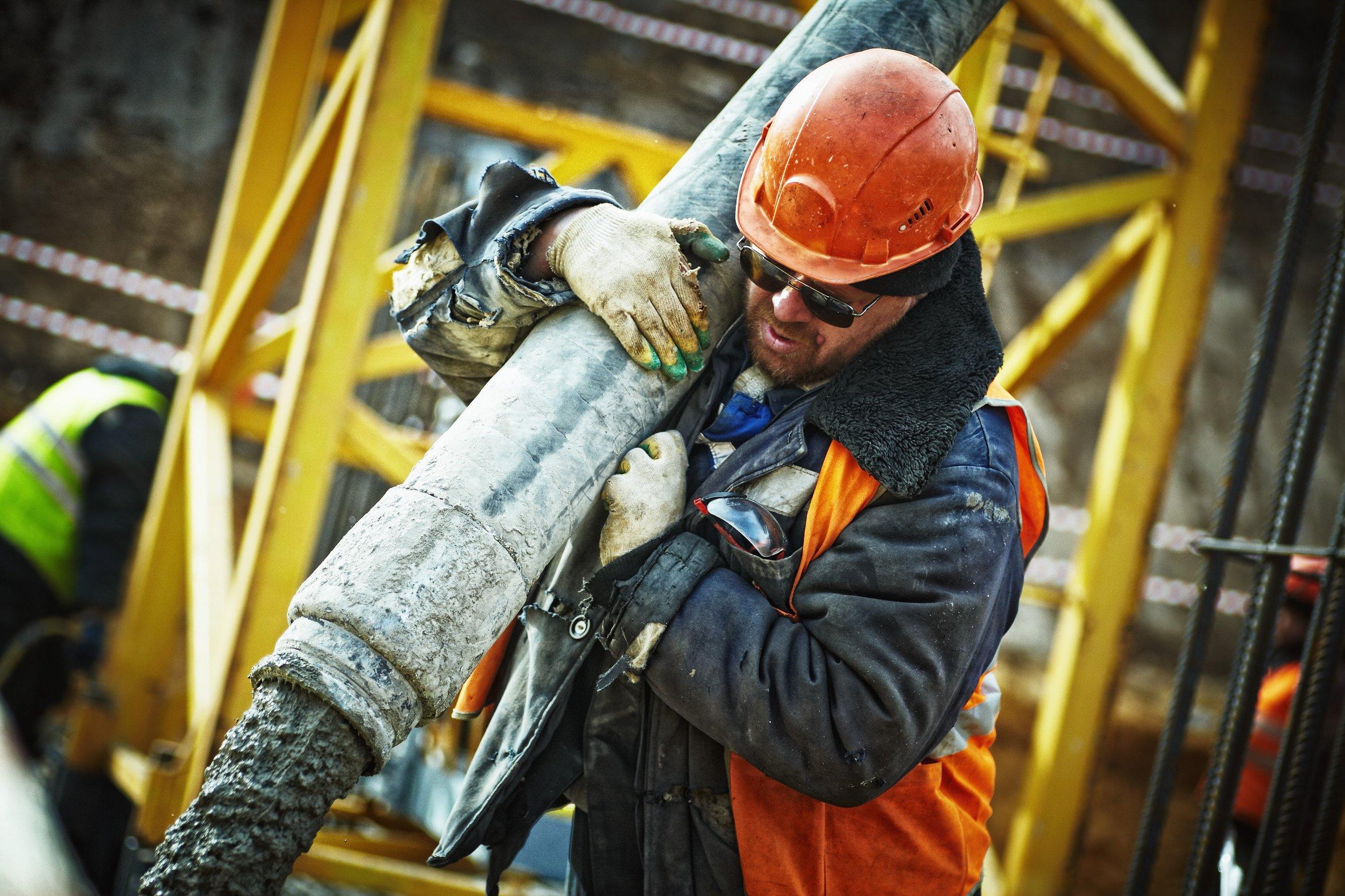 Builder or Contractor Working