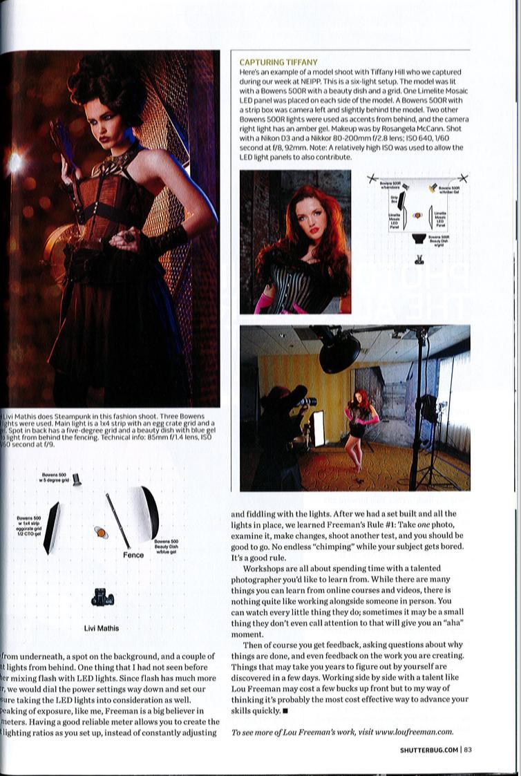 Shutterbug Magazine    Feature Cover Article