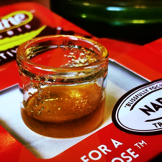 Soulshine Cannabis sugar wax concentrate