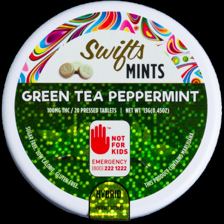 Swifts Green Tea Peppermints CBD Weedmints Hashtag Fremont Wallingford Seattle Redmond Legal Weed Pot Marijuana THC Sativa Indica Hybrid Center of the Universe Wellness Washington i502.png