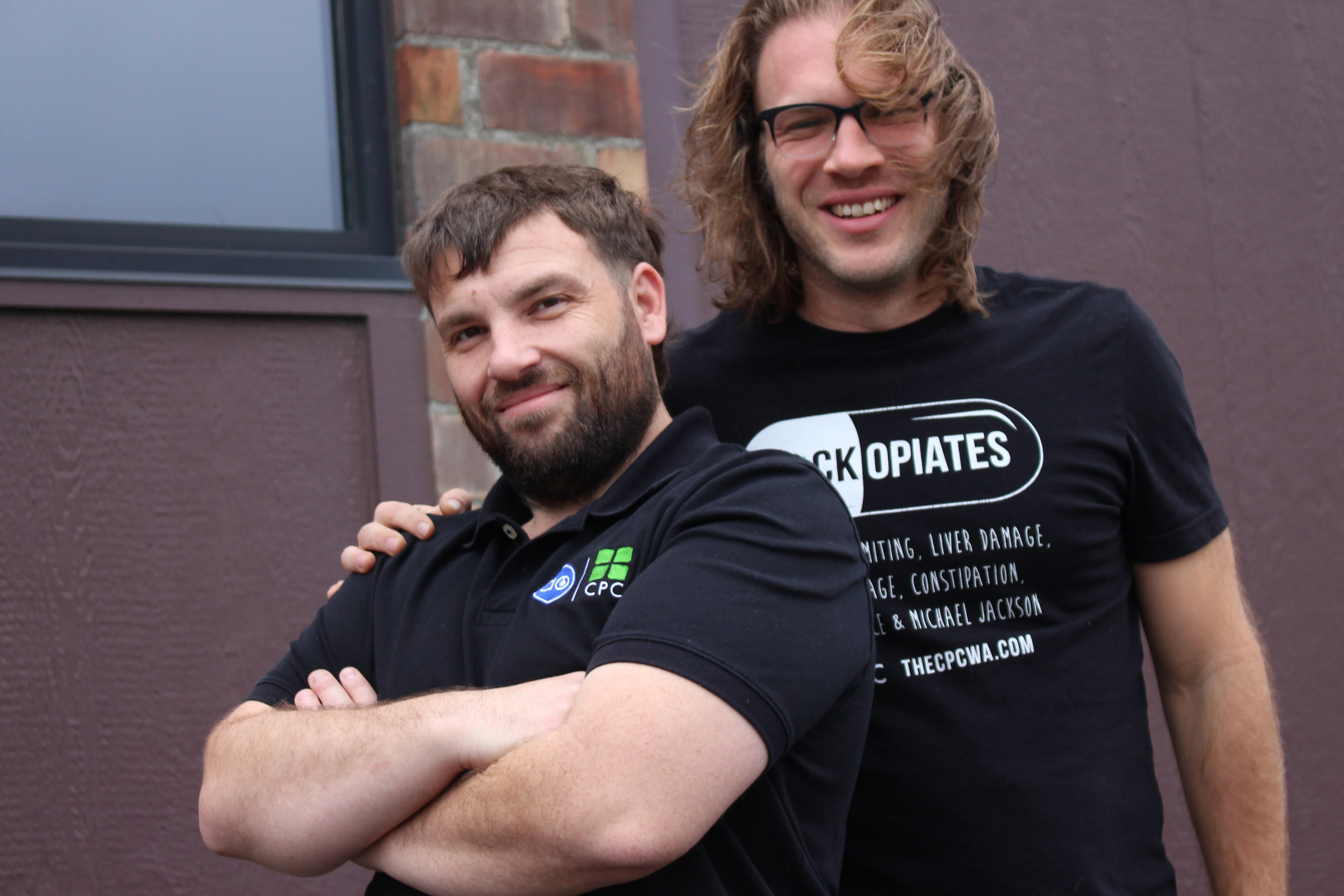 Ben (left) & Jeremy (Right) from The Center for Palliative Care (CPC)