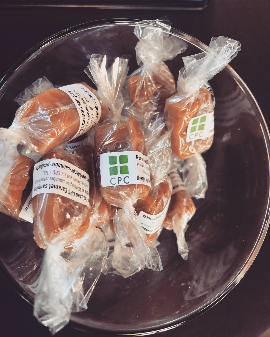 CPC caramels ($10) - Two delicious, creamy, buttery caramels for $10 make the perfect stocking stuffer.