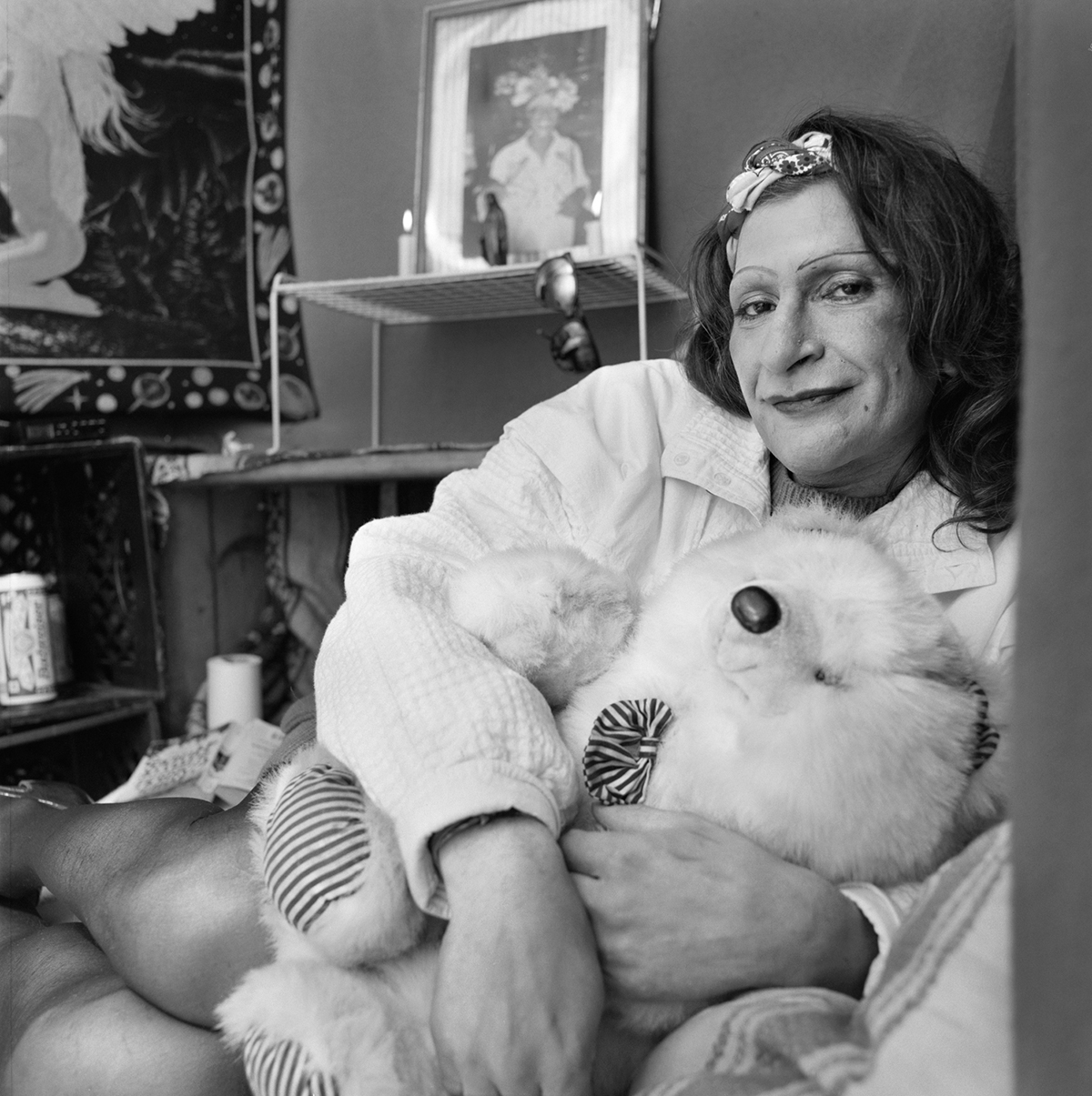 In memory of Sylvia Rivera, 1951-2002 - photo by Giselle DeFares