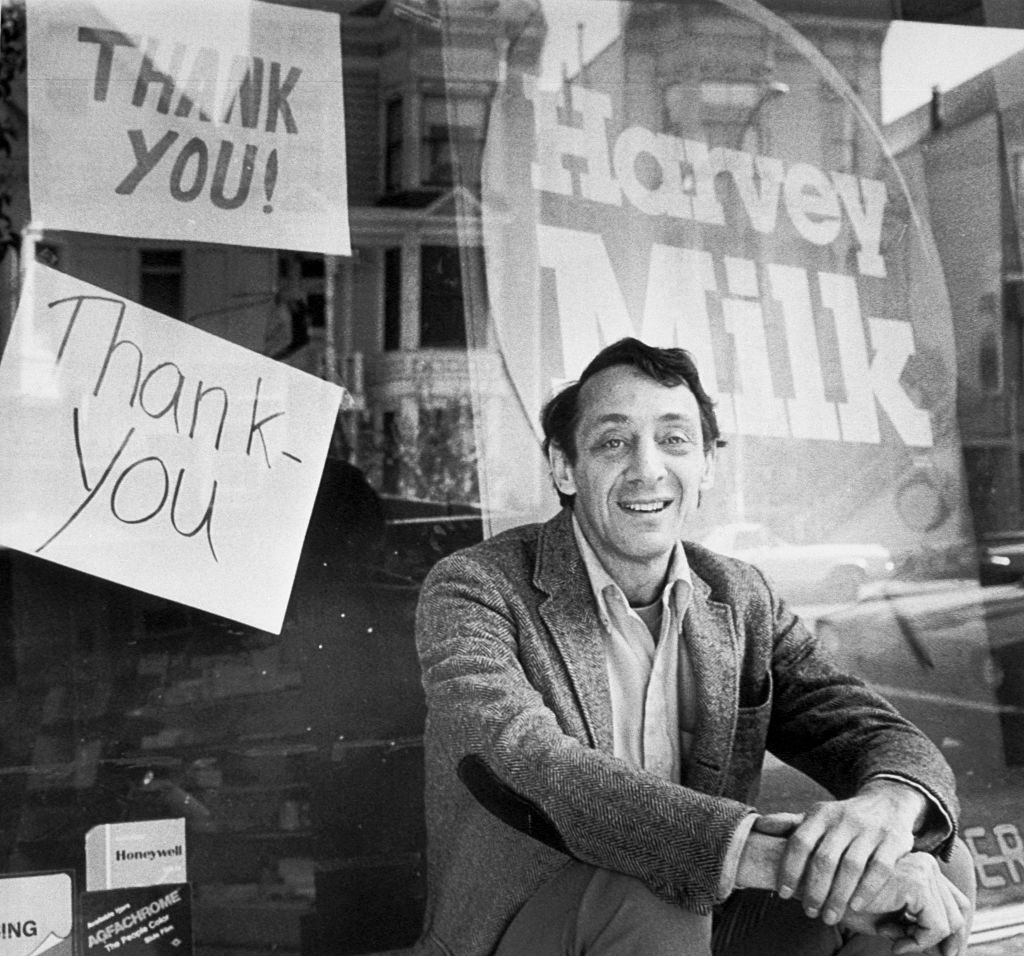 In memory of Harvey Milk, 1930-1978 - Photo courtesy of NYPL Digital Collections