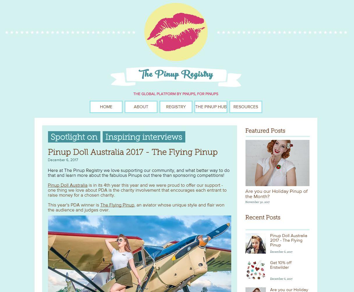 The Pinup Registry Dec 2017