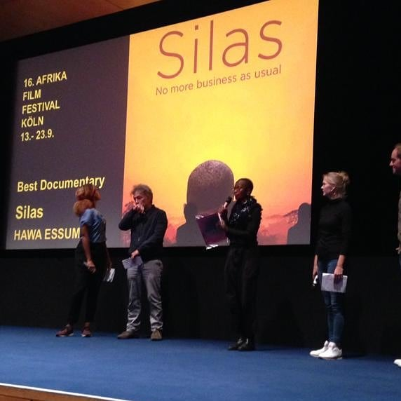A flashback to last weekend where SILAS had an incredible reception at afrika film festival Köln, where we won the audience award! @ekuahawa @anjalinayar @silasmovie @bigworldcinema