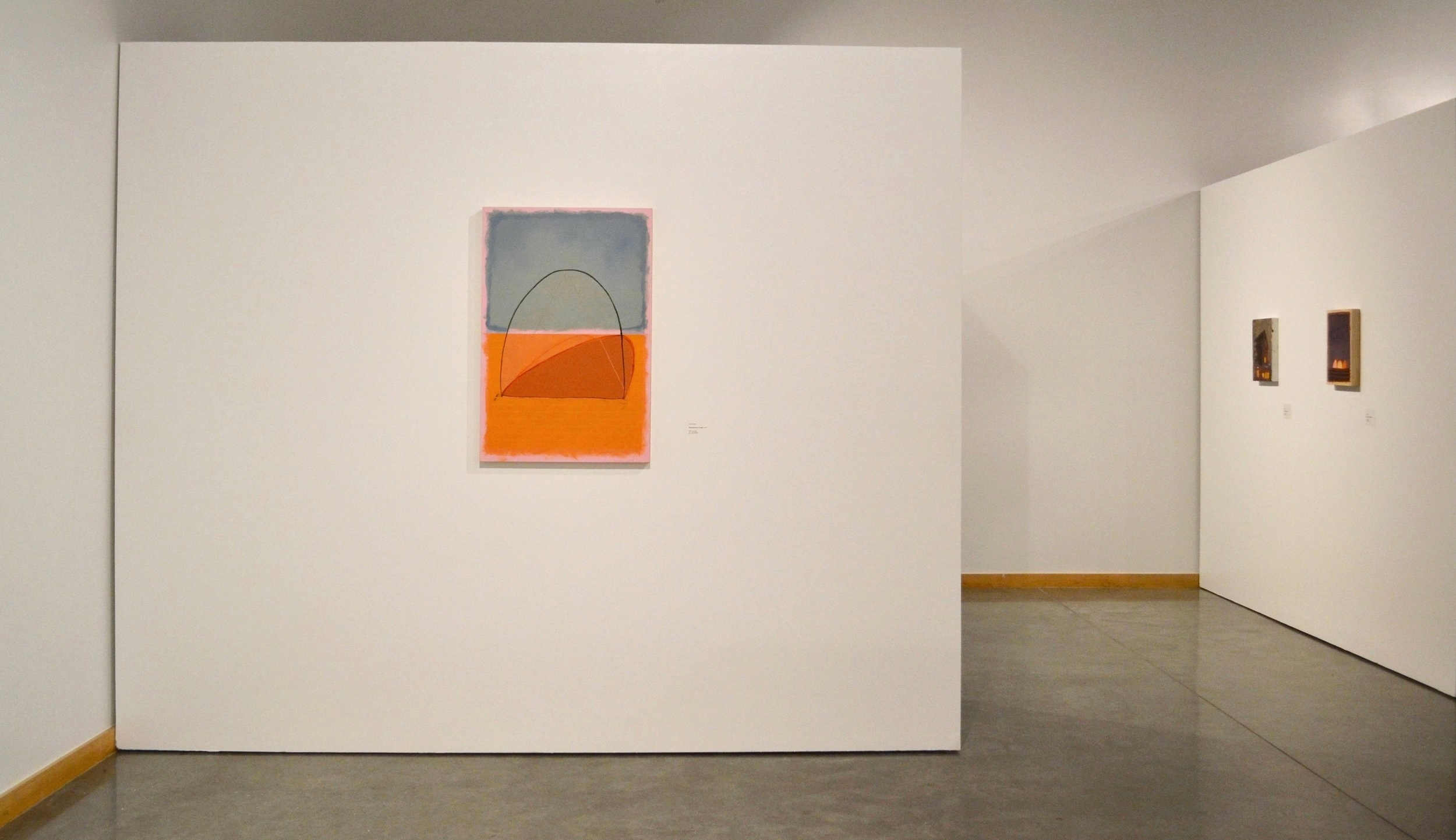 Dwelling: Paintings by Peter Ligon and Layla Luna (Haggerty Gallery)