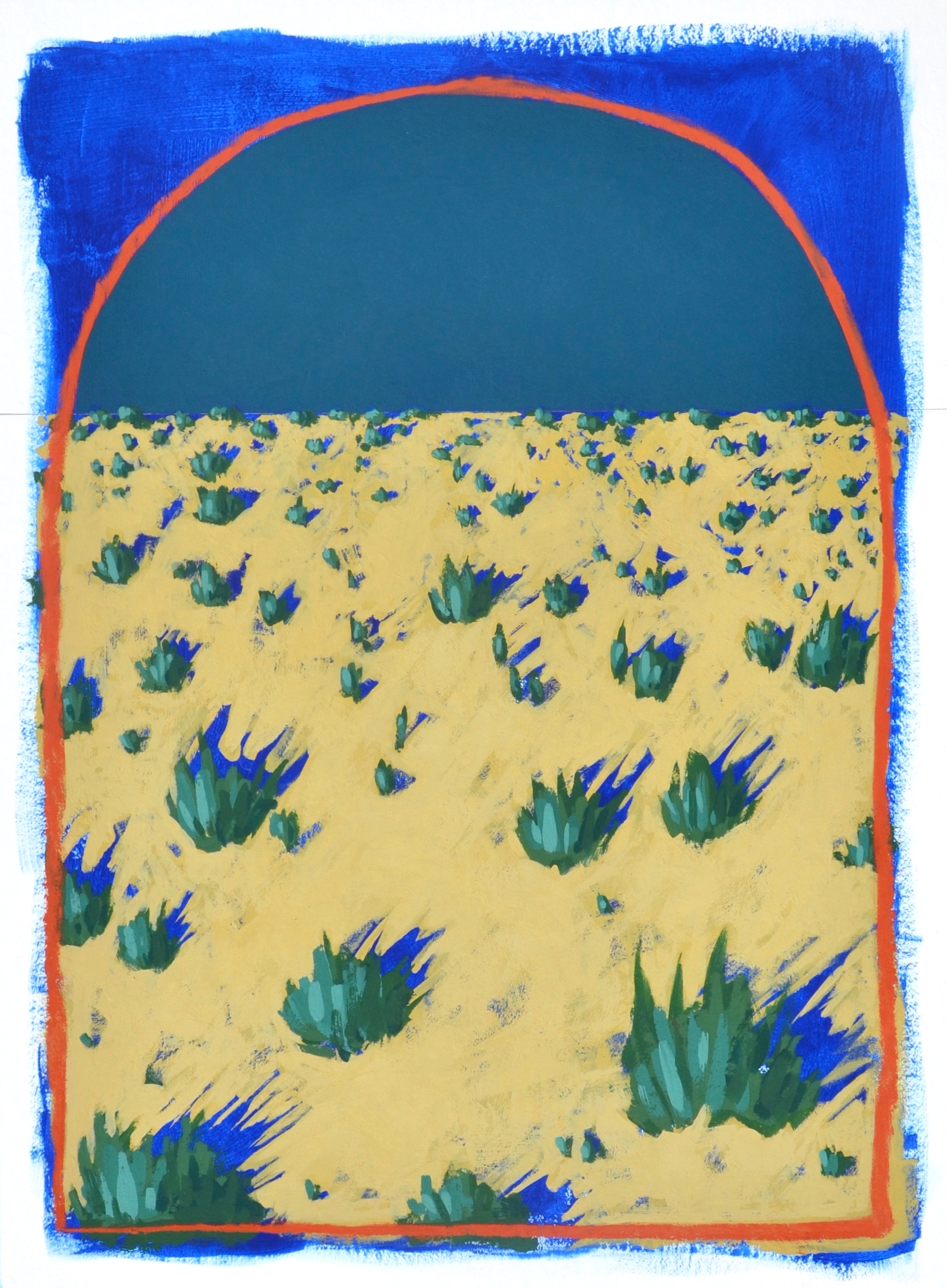 Desert Diptych: Full Moon (2 of 2)