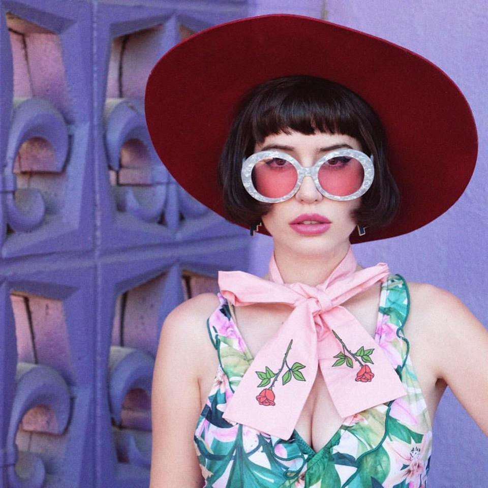 AMY ROILAND WEARS OUR FAVORITE FLORALS -