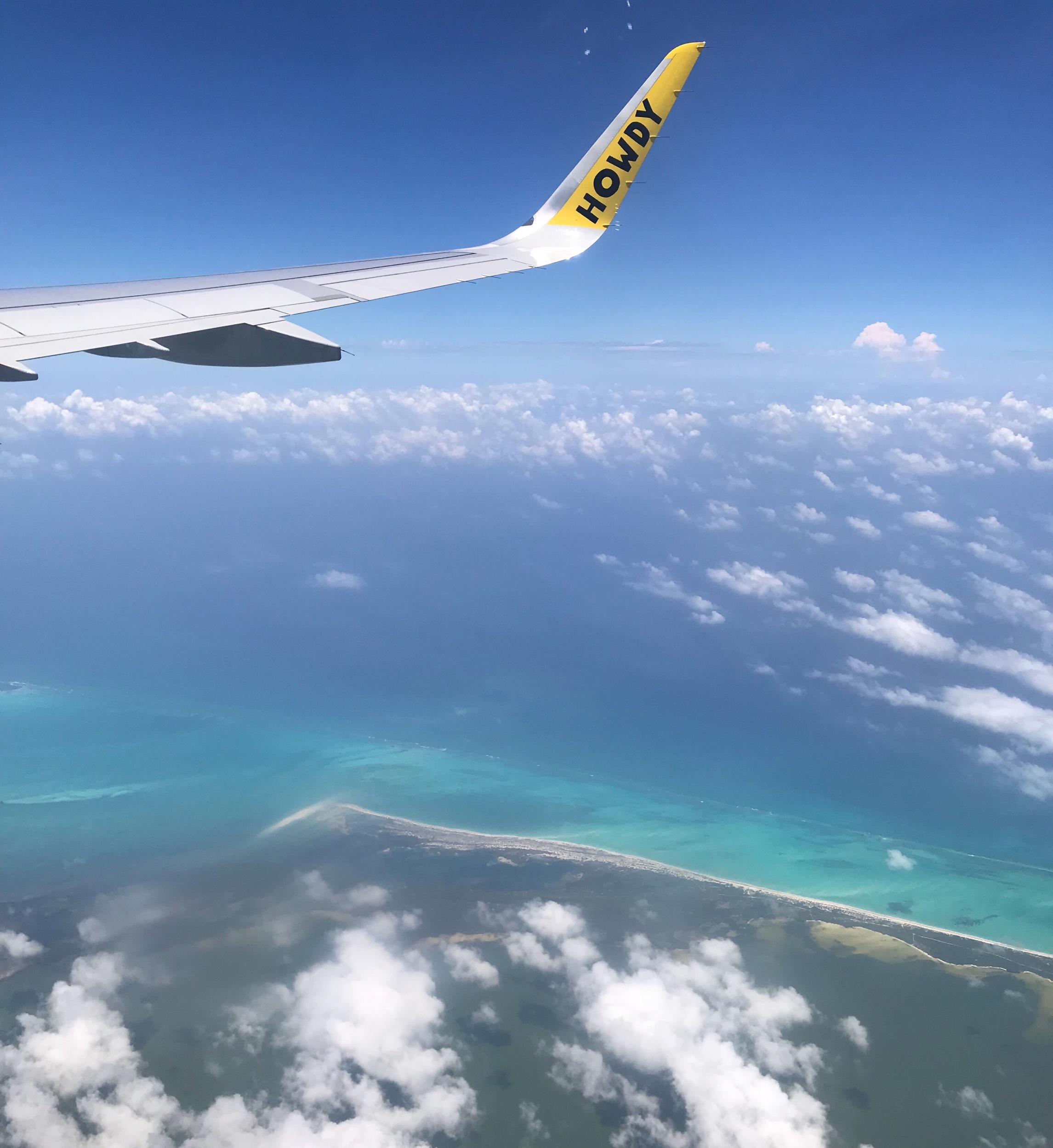 Somewhere over Quintana Roo